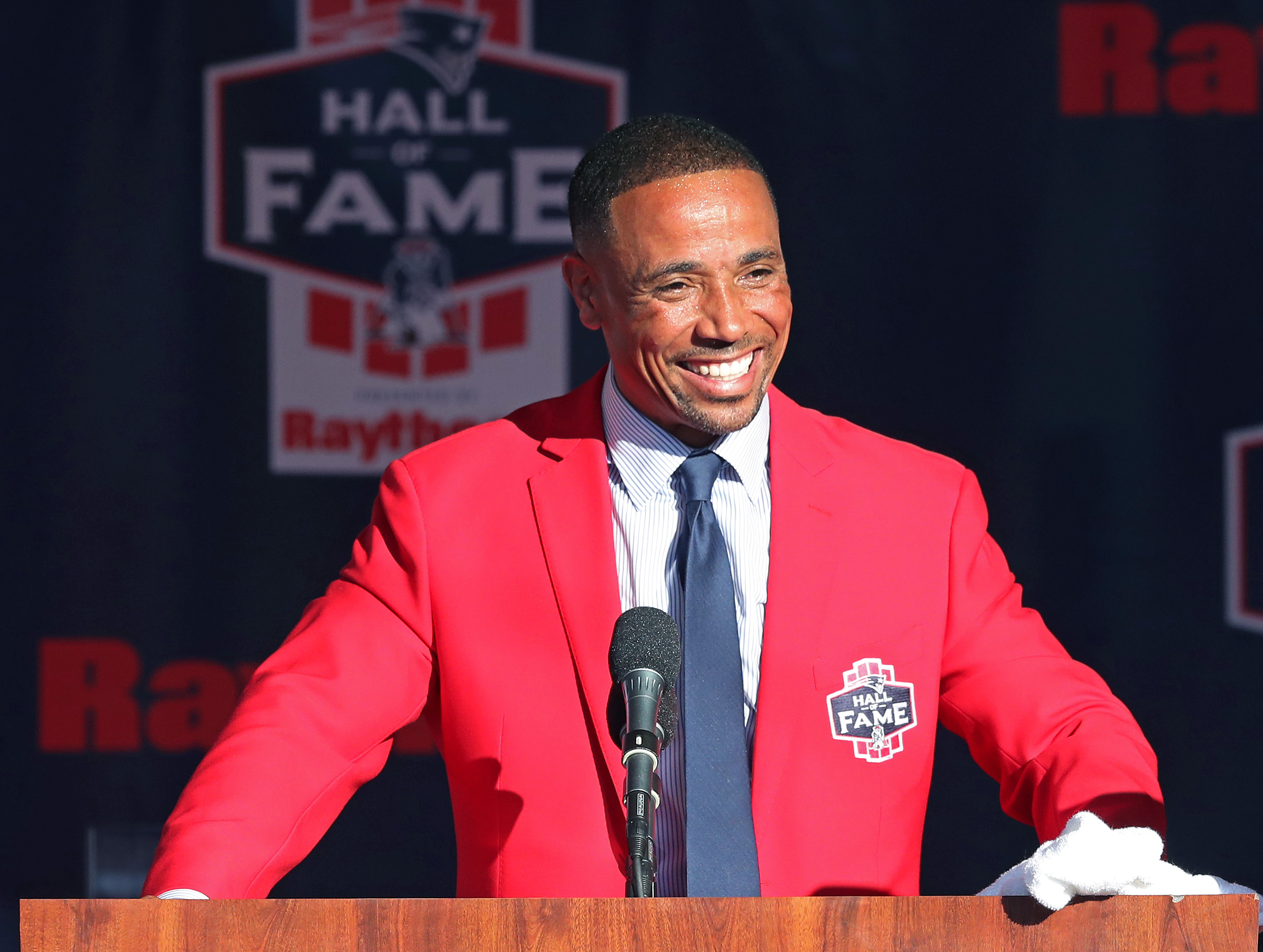 New England Patriots Hall Of Fame Induction