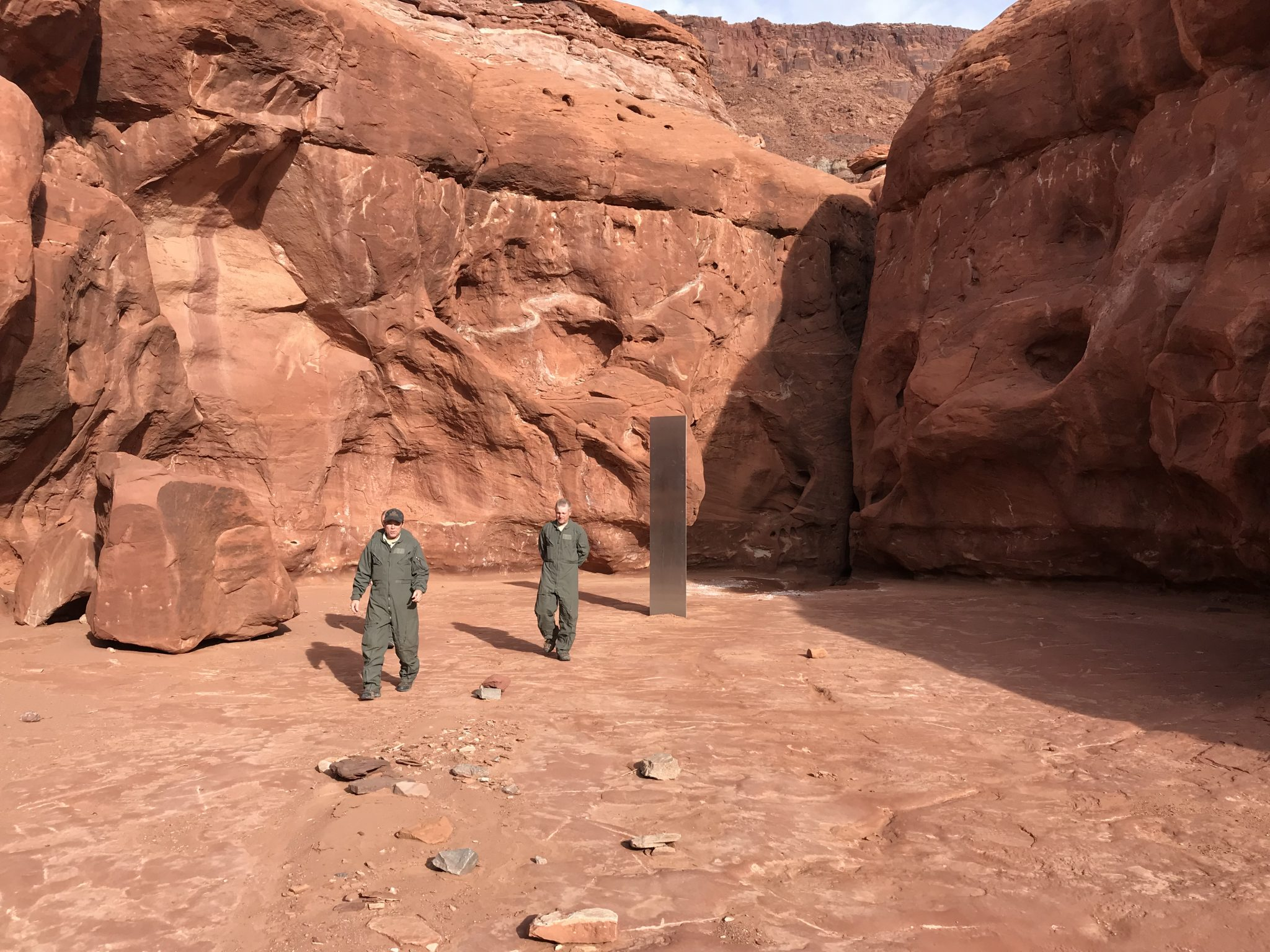 Utah Monolith Photo