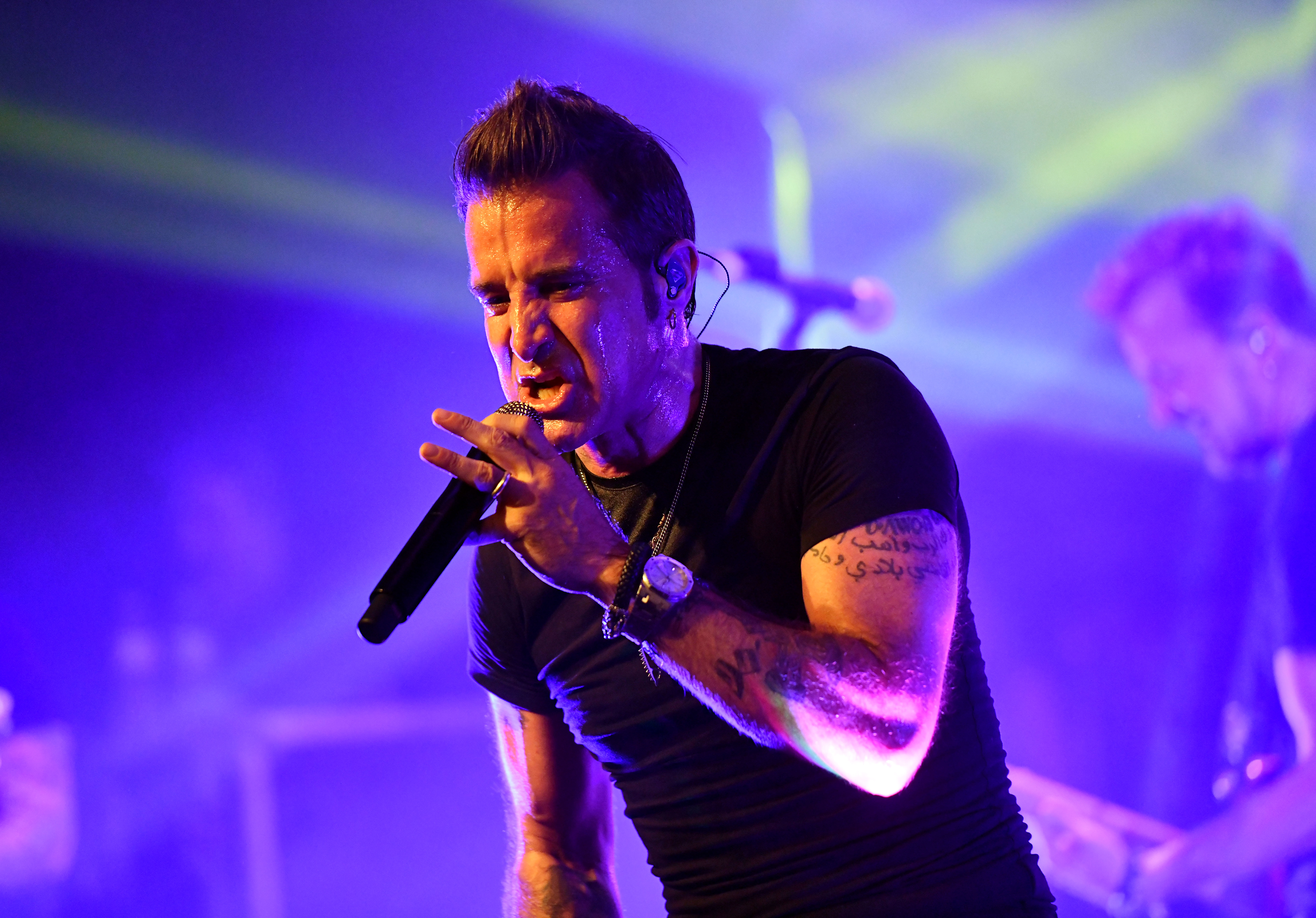 Scott Stapp Performs At The Canyon Club