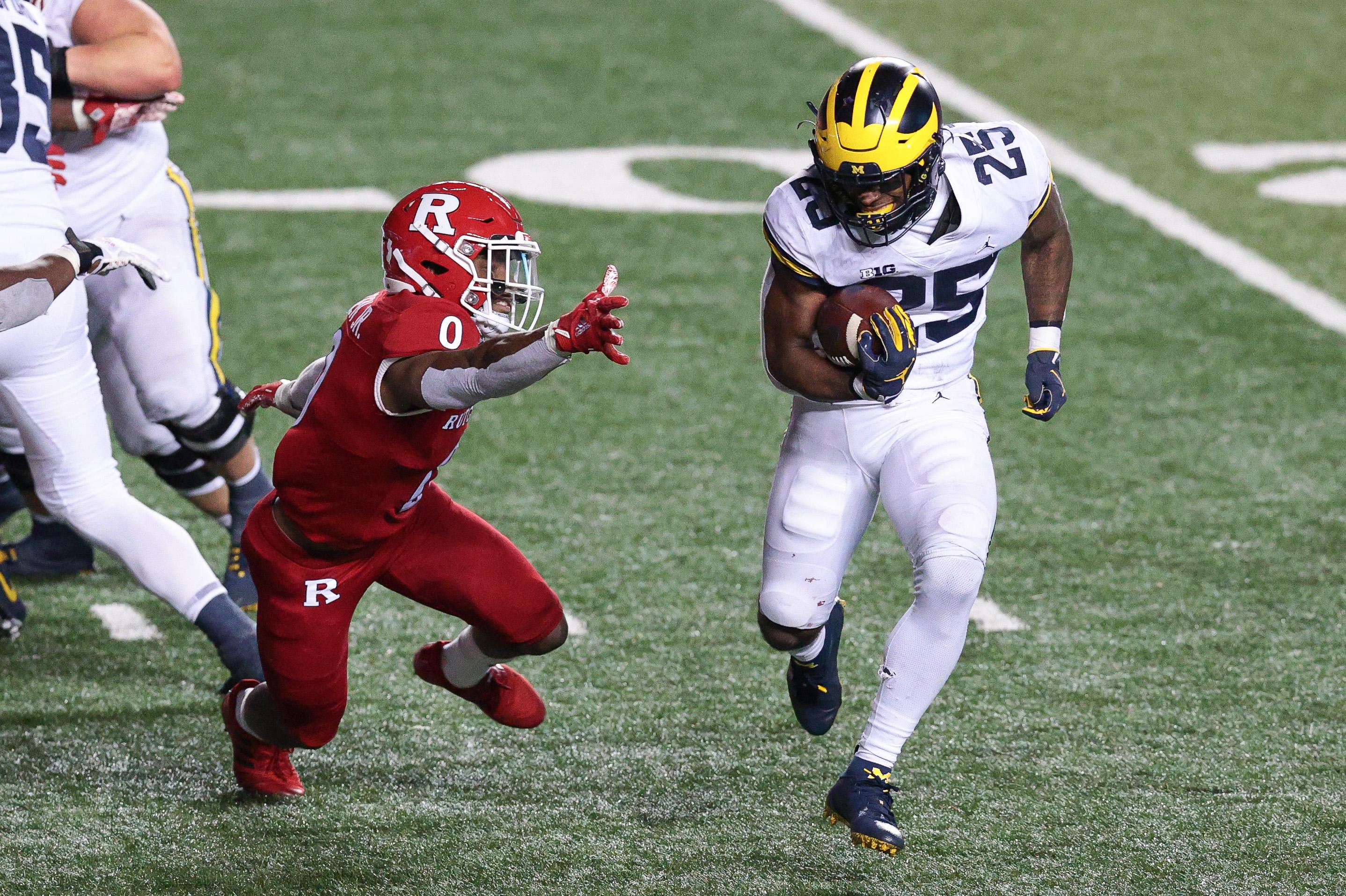 NCAA Football: Michigan at Rutgers