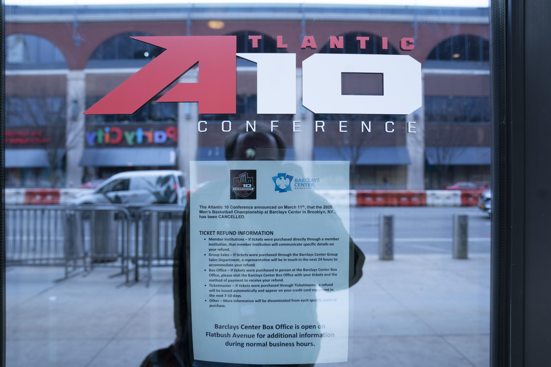 COLLEGE BASKETBALL: MAR 12 Atlantic 10 Tournament - Massachusetts v Virginia Commoonwealth