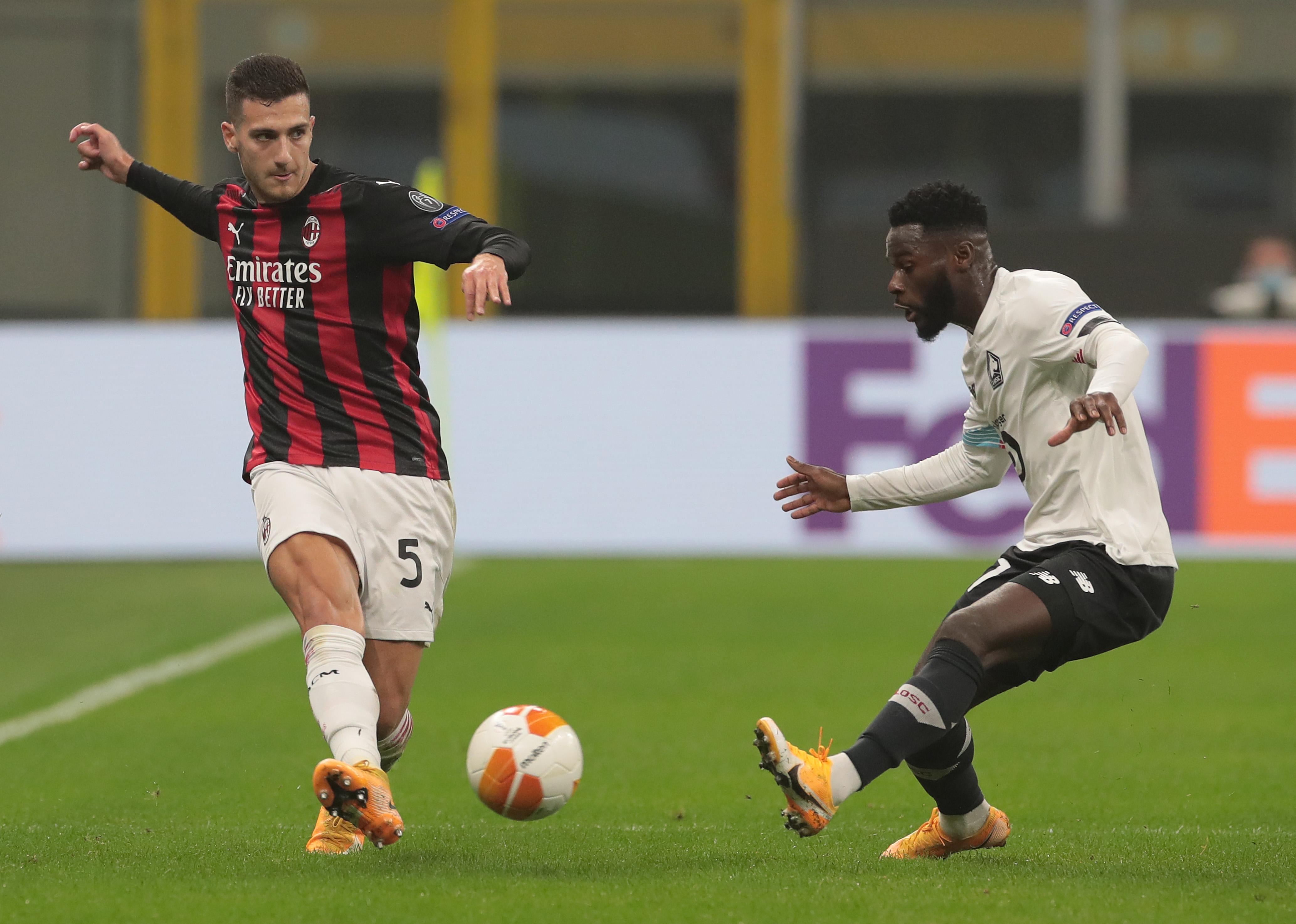 AC Milan v LOSC Lille: Group H - UEFA Europa League