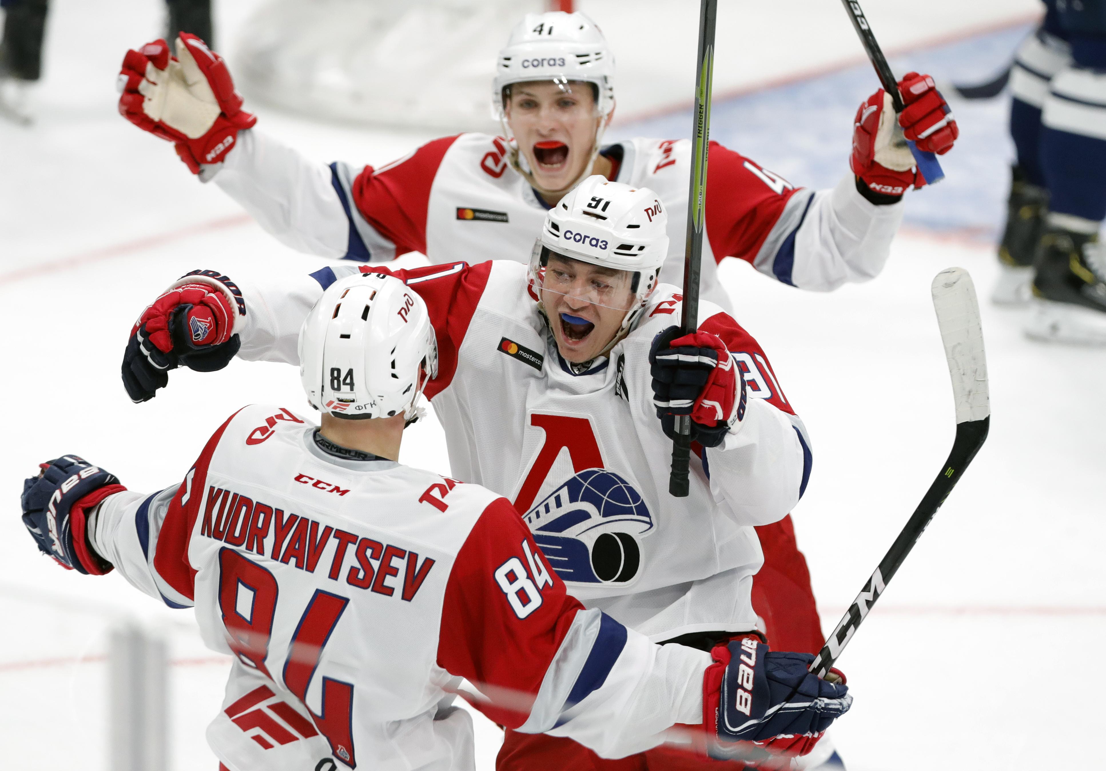 Kontinental Hockey League: Dynamo Moscow vs Lokomotiv Yaroslavl