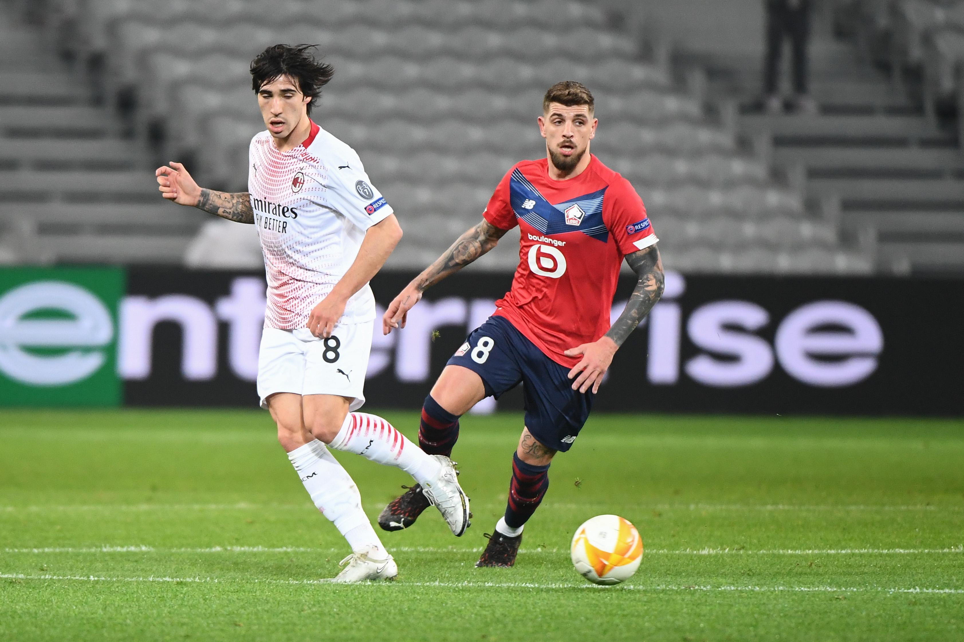 Lille OSC v Milan AC - UEFA Europa League