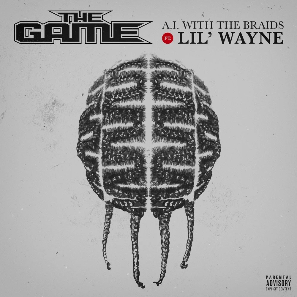 """The Game's """"A.I. With The Braids"""" artwork"""