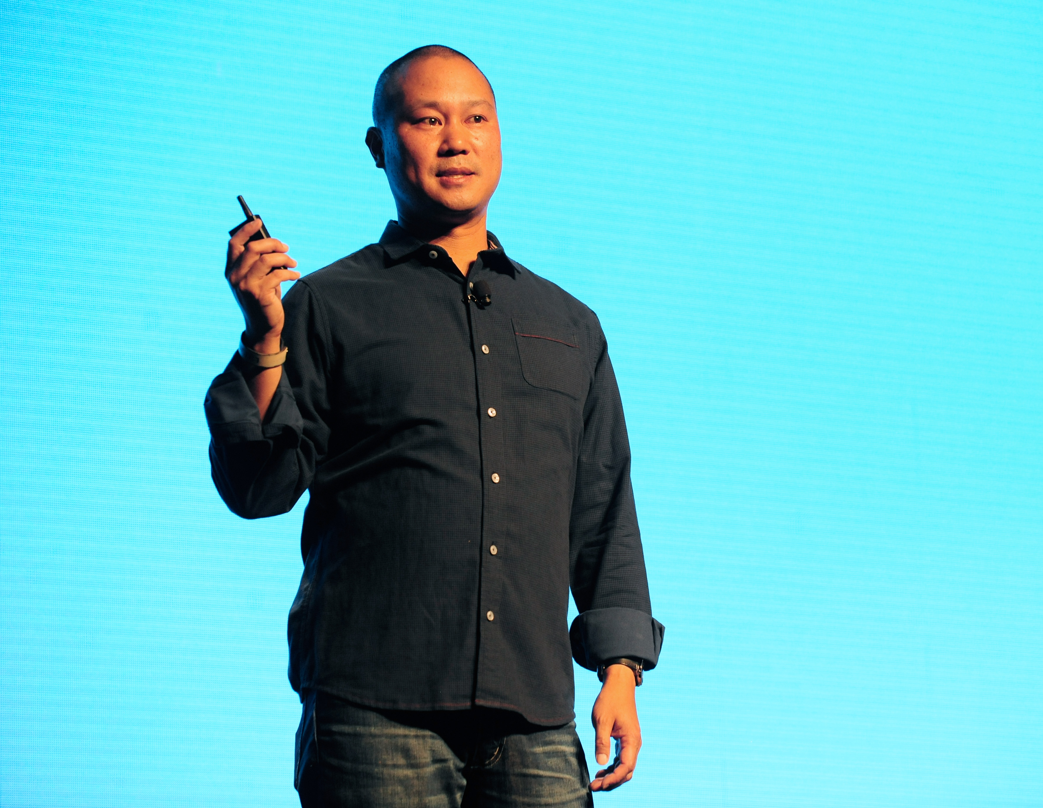 Former Zappos CEO Tony Hsieh