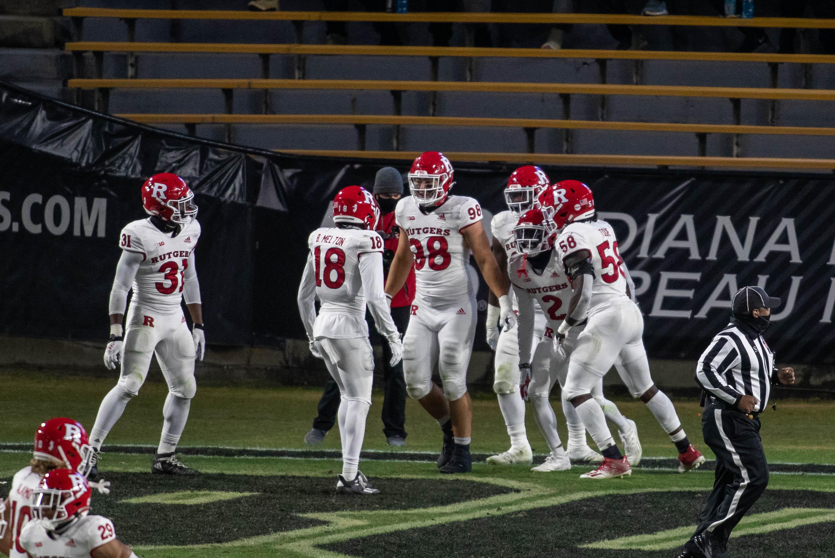 NCAA Football: Rutgers at Purdue