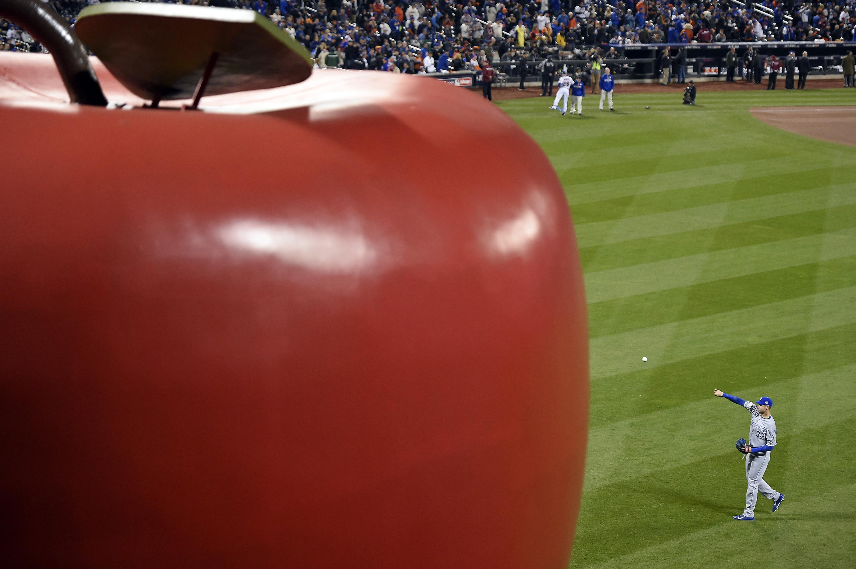 World Series, Kansas City at NY Mets, Game 4