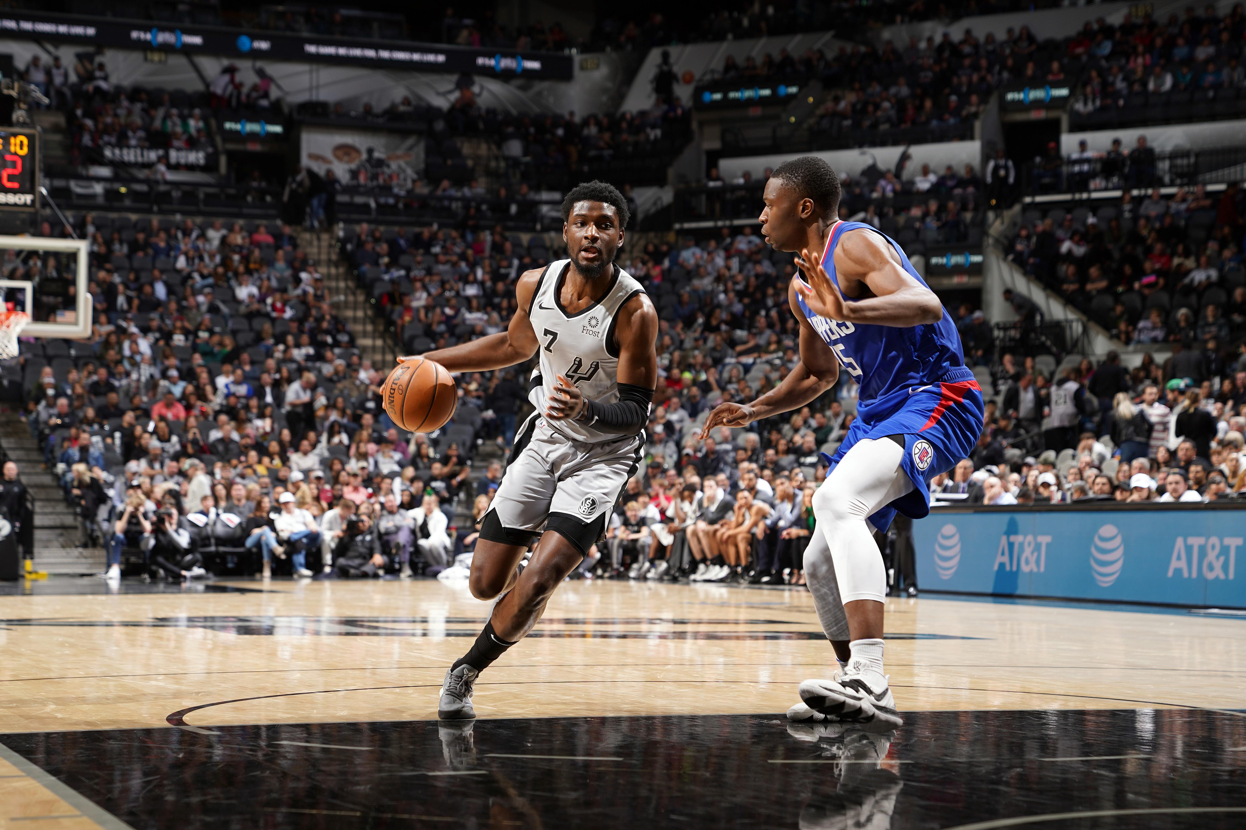 LA Clippers v San Antonio Spurs