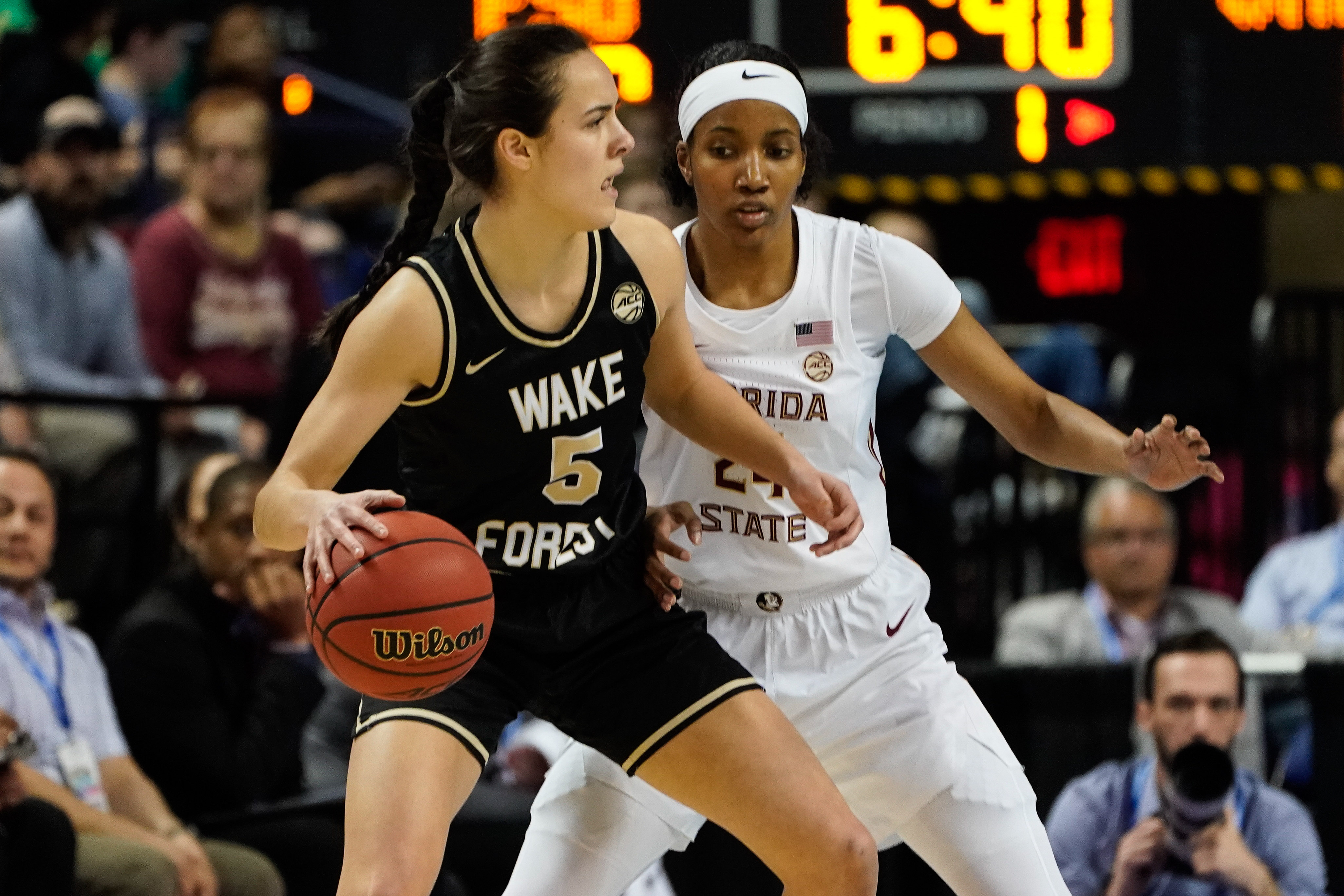 NCAA Womens Basketball: ACC Tournament - Wake Forest vs. Florida State