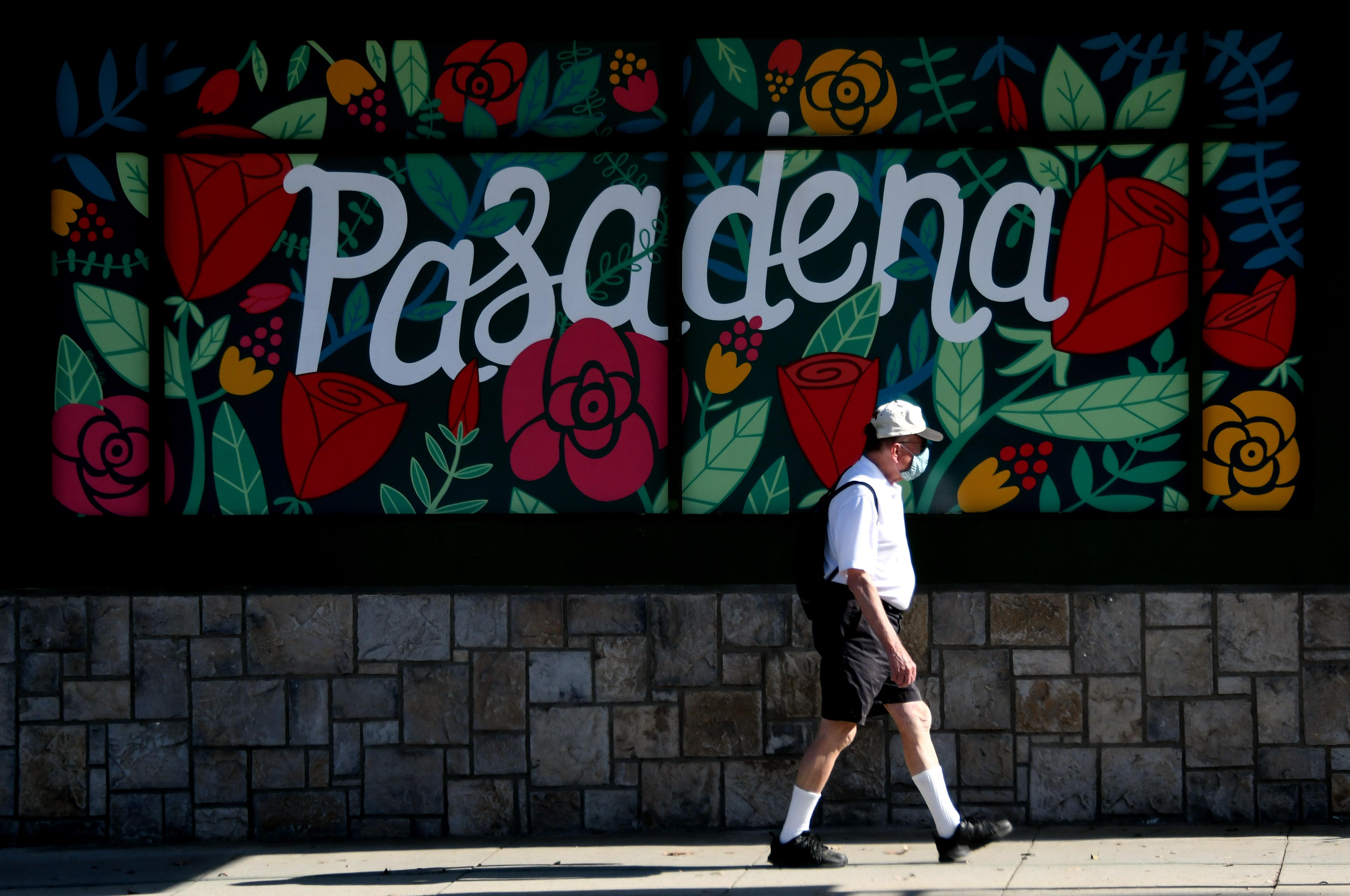 Pasadena during the Coronavirus Pandemic.