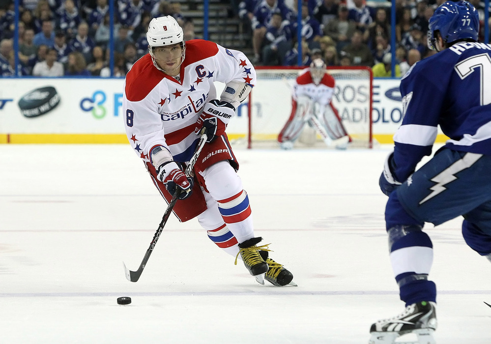 Alex Ovechkin remains the centerpiece of a revamped Washington Capitals offense.