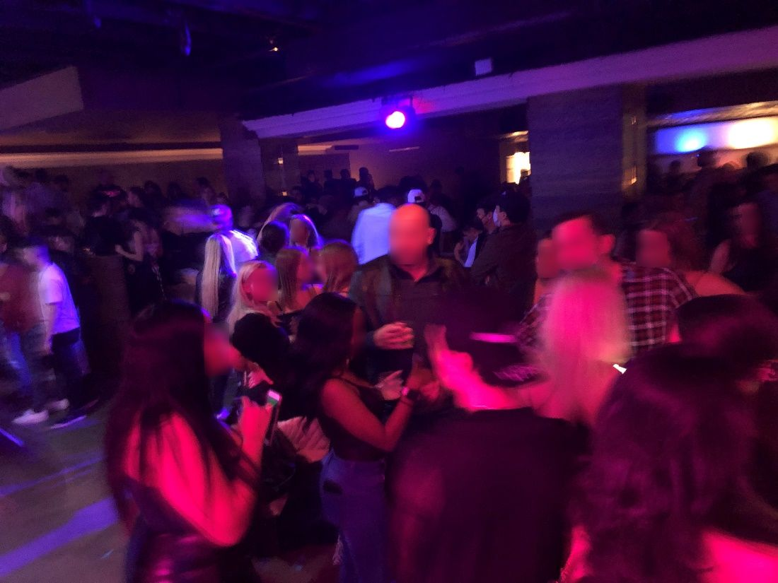 A party was shut down Nov. 29 at The Vault, which allegedly had 300 people inside not wearing masks or social distancing.