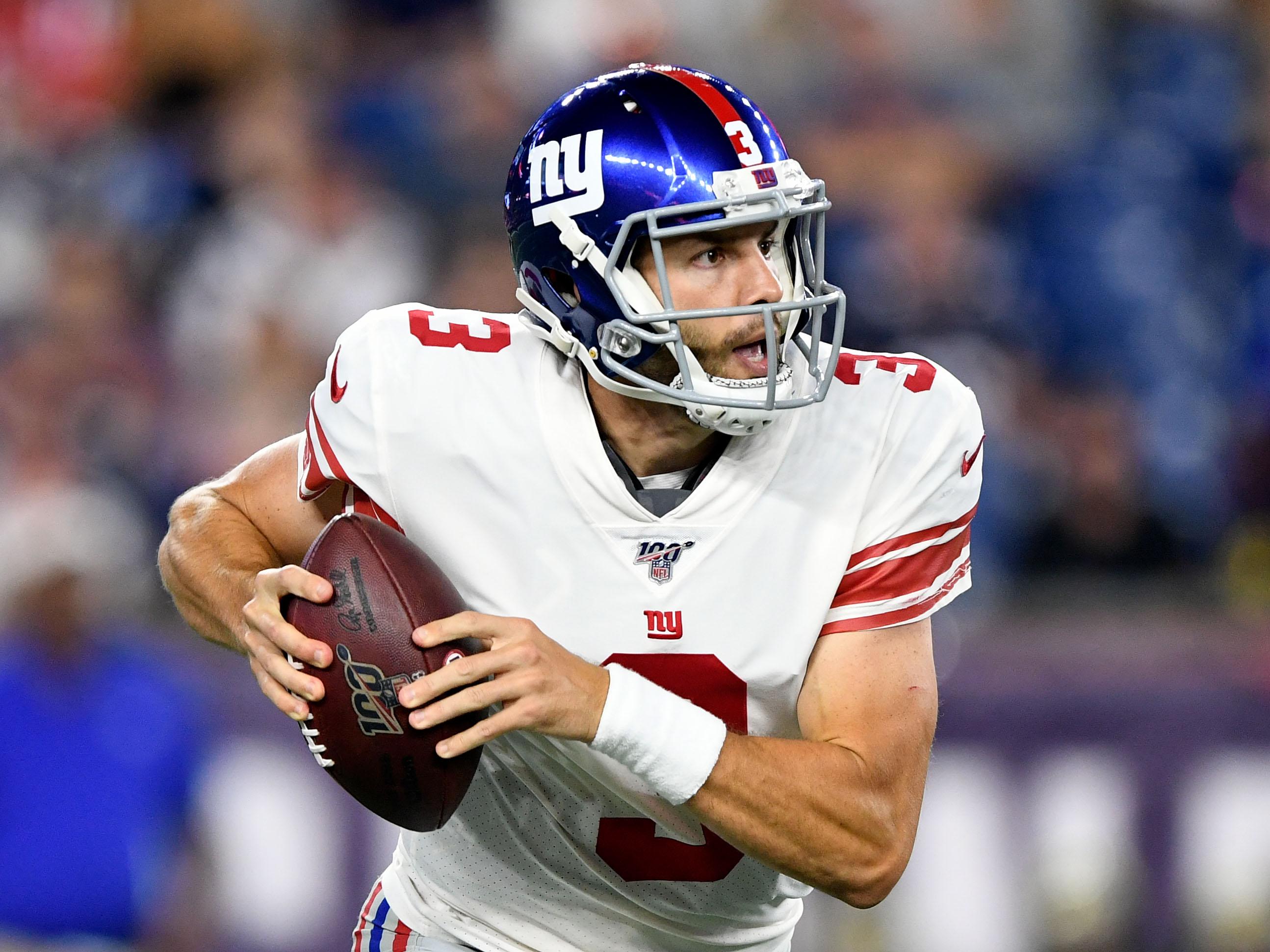 NFL: Preseason-New York Giants at New England Patriots