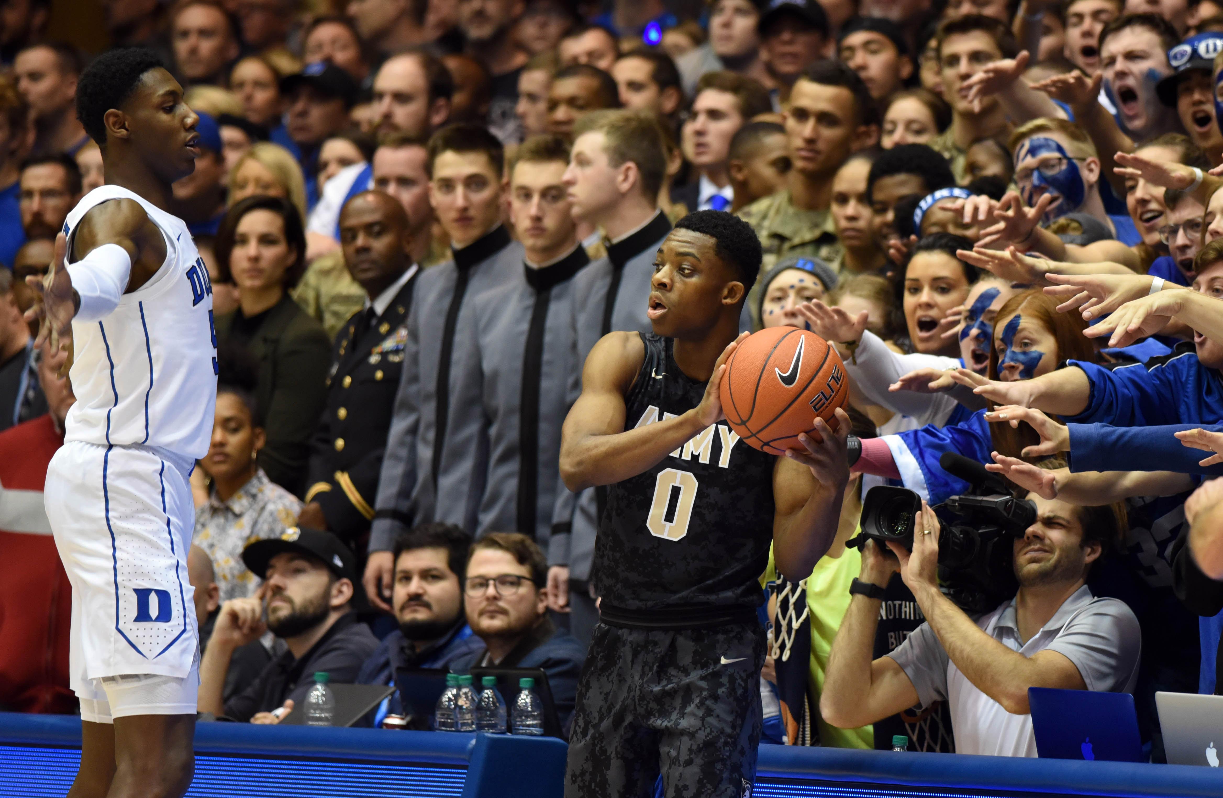 NCAA Basketball: Army at Duke