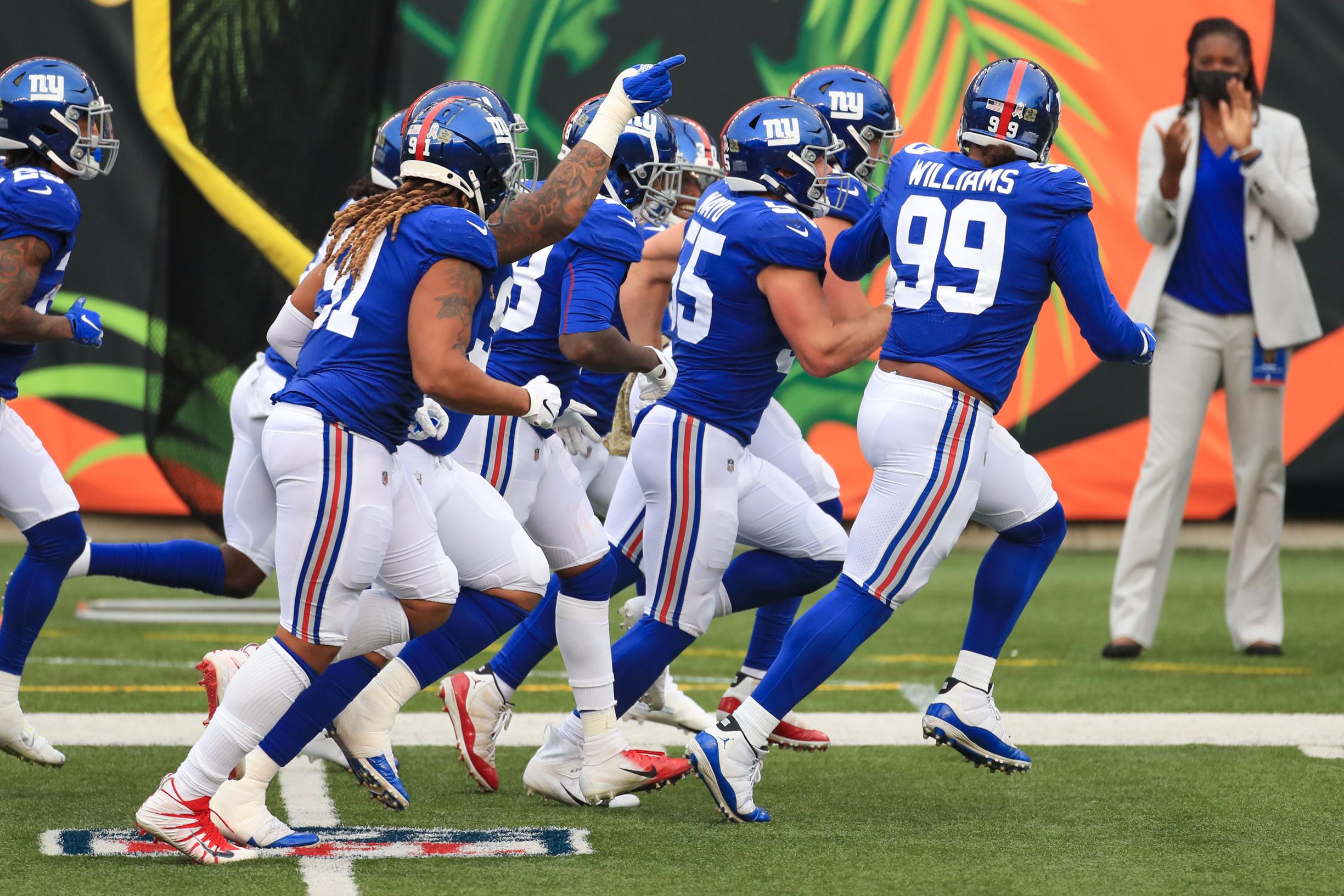 NFL: NOV 29 Giants at Bengals