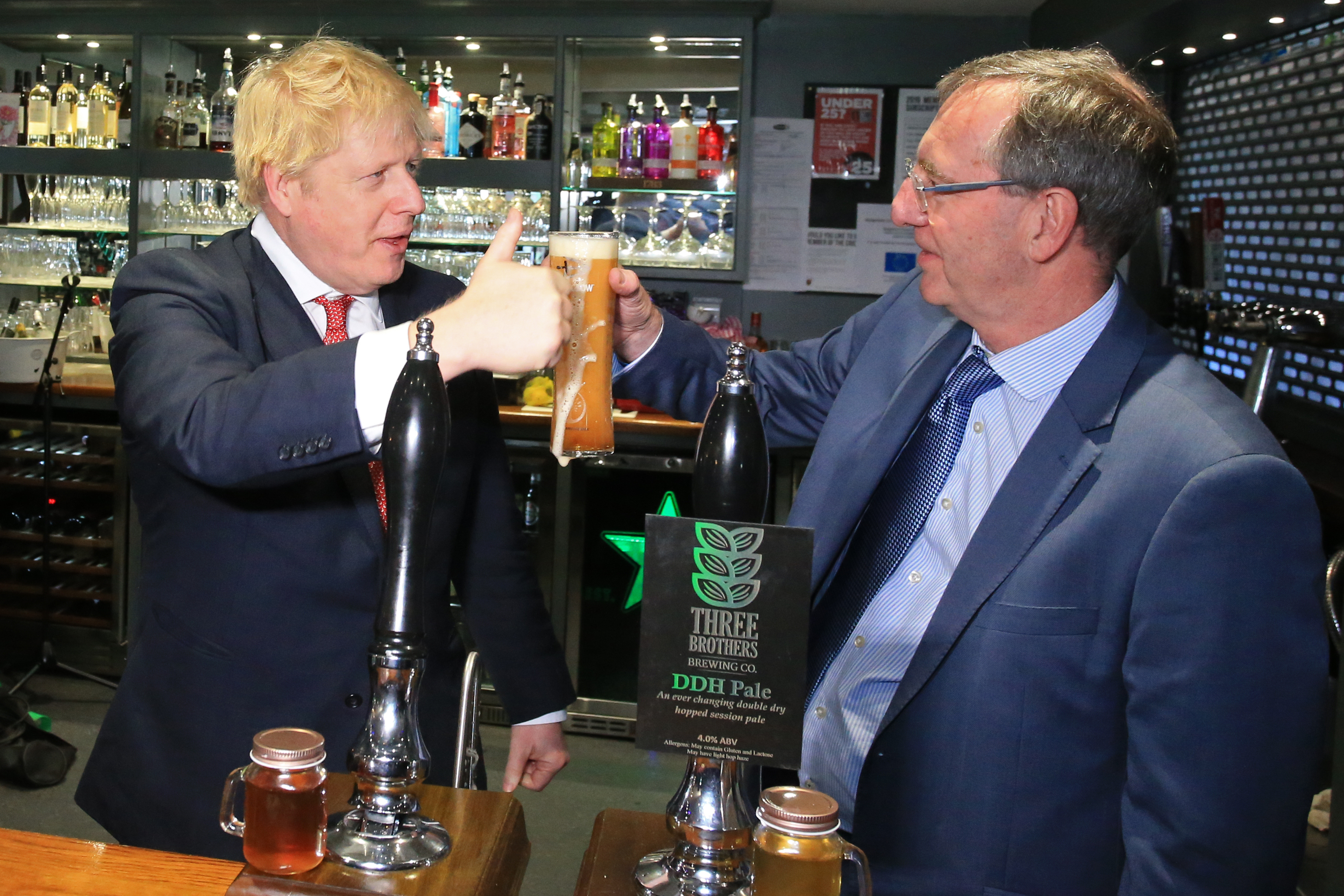 Prime Minister Boris Johnson Visits County Durham Following Election Victory