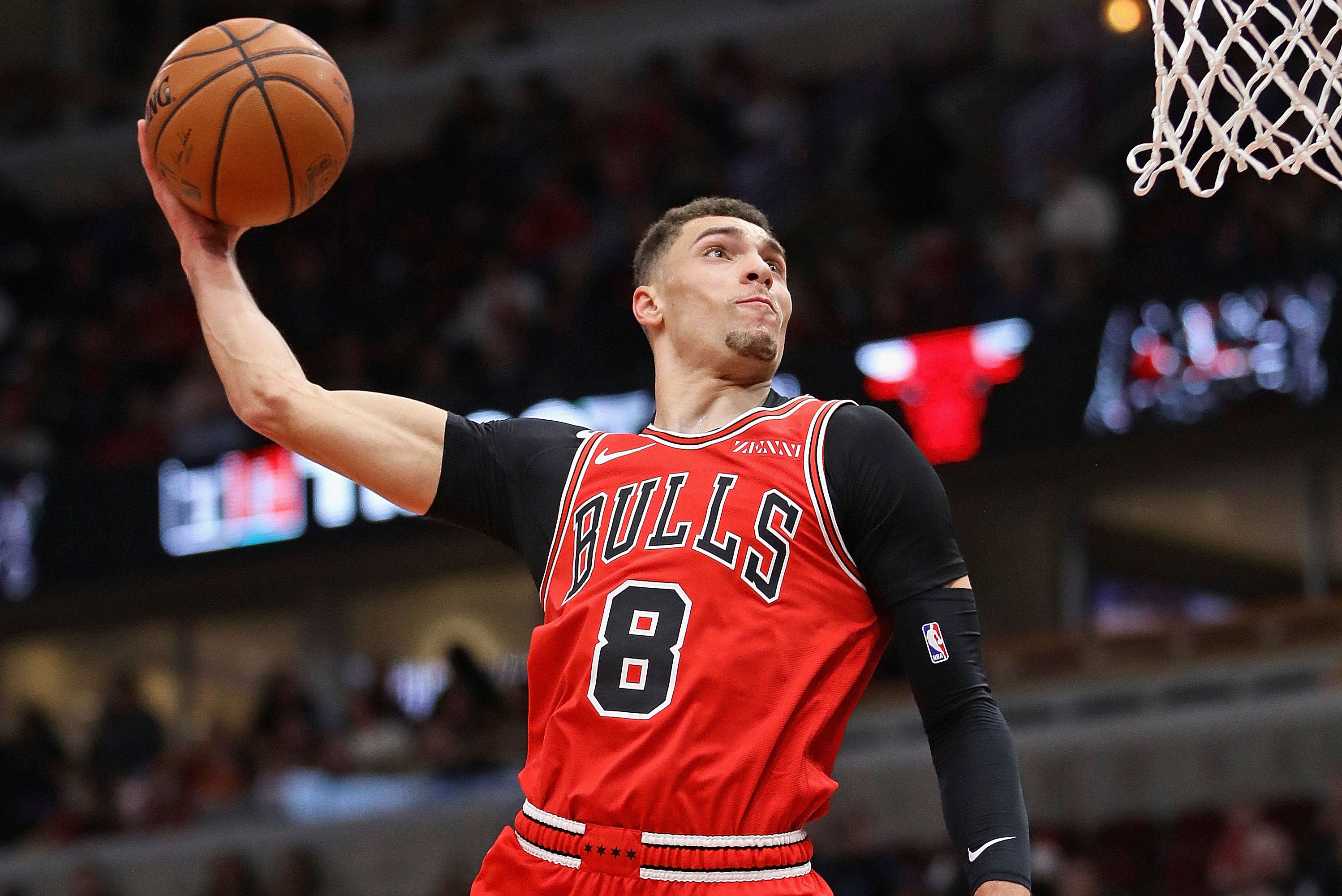 """""""I understand the business of basketball, but at the end of the day, anybody can get traded on any team and anybody can go anywhere just like injuries can happen to everybody,'' the Bulls' Zach LaVine said of trade rumors."""