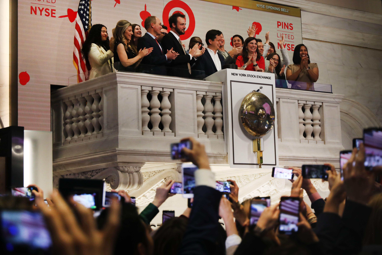 Pinterest Takes Stock Public On New York Stock Exchange