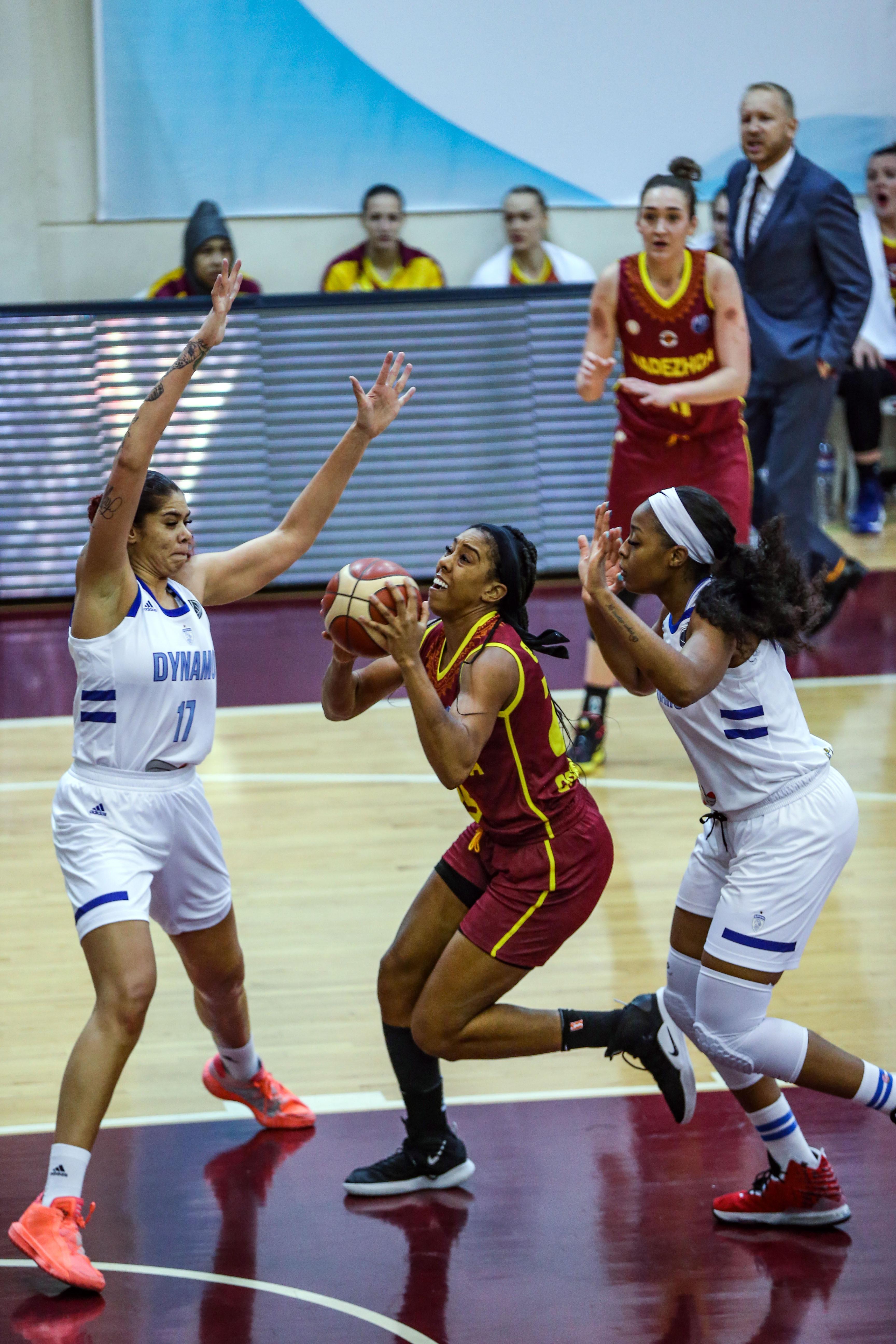 Dynamo Kursk v Nadezhda - FIBA EuroLeague Women