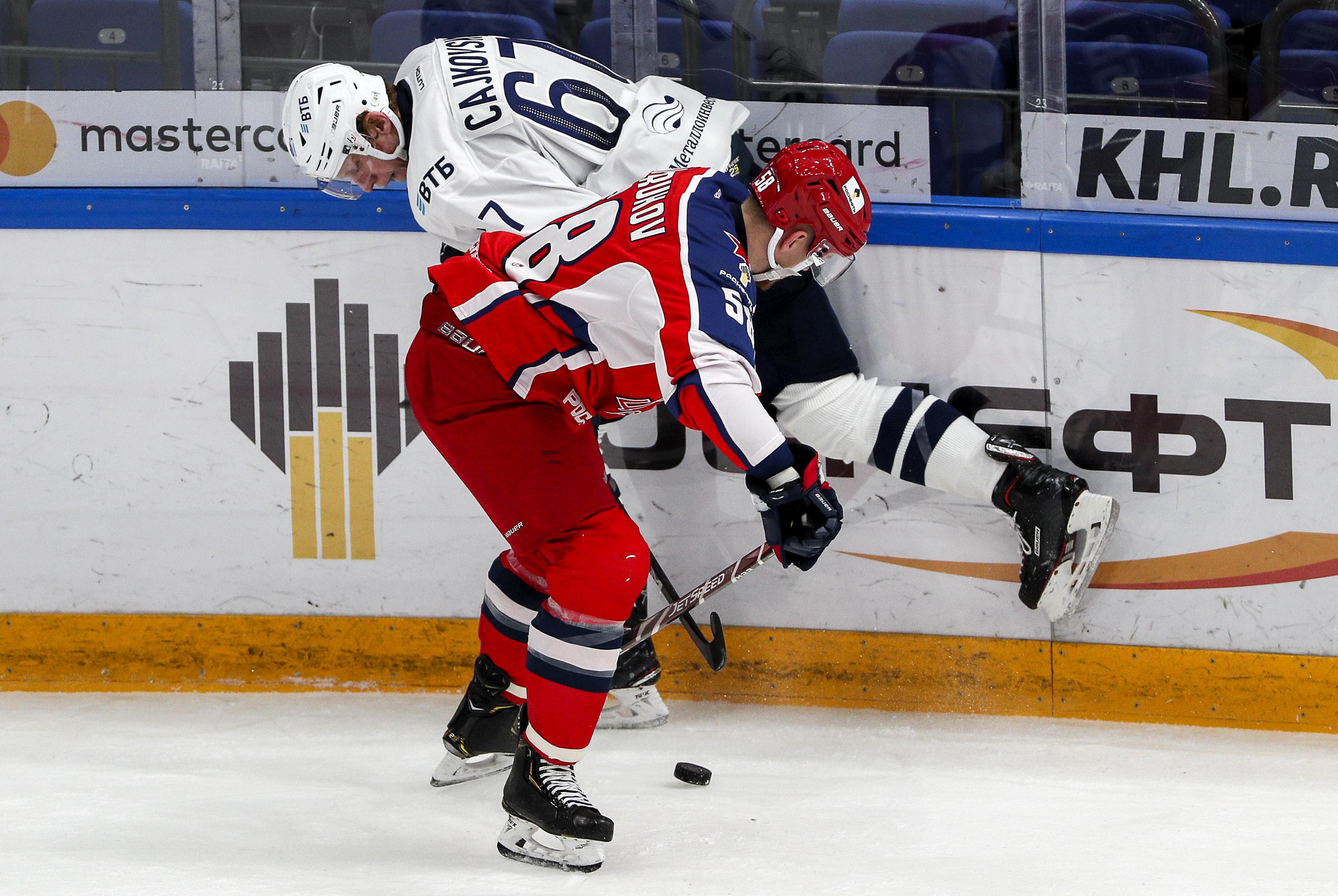 Kontinental Hockey League: CSKA Moscow 2 - 0 Dynamo Moscow