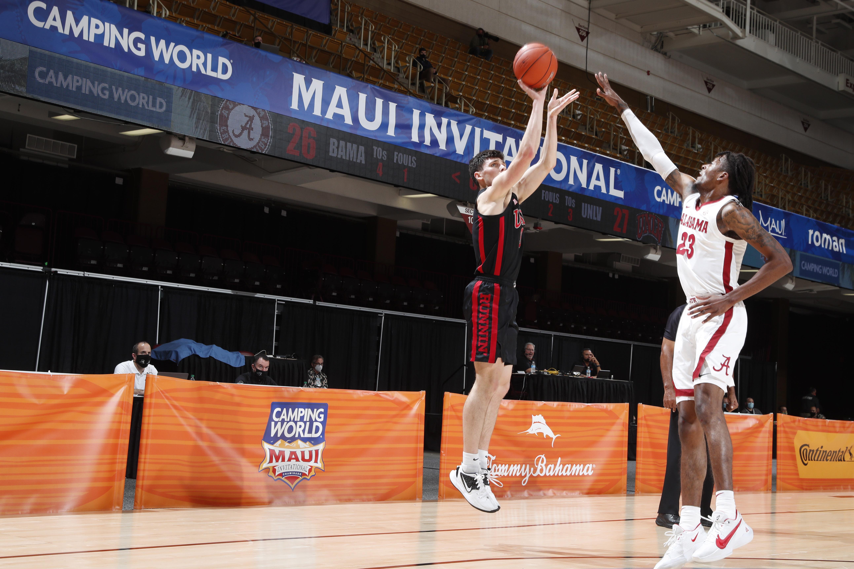 COLLEGE BASKETBALL: DEC 01 Maui Invitational - UNLV v Alabama