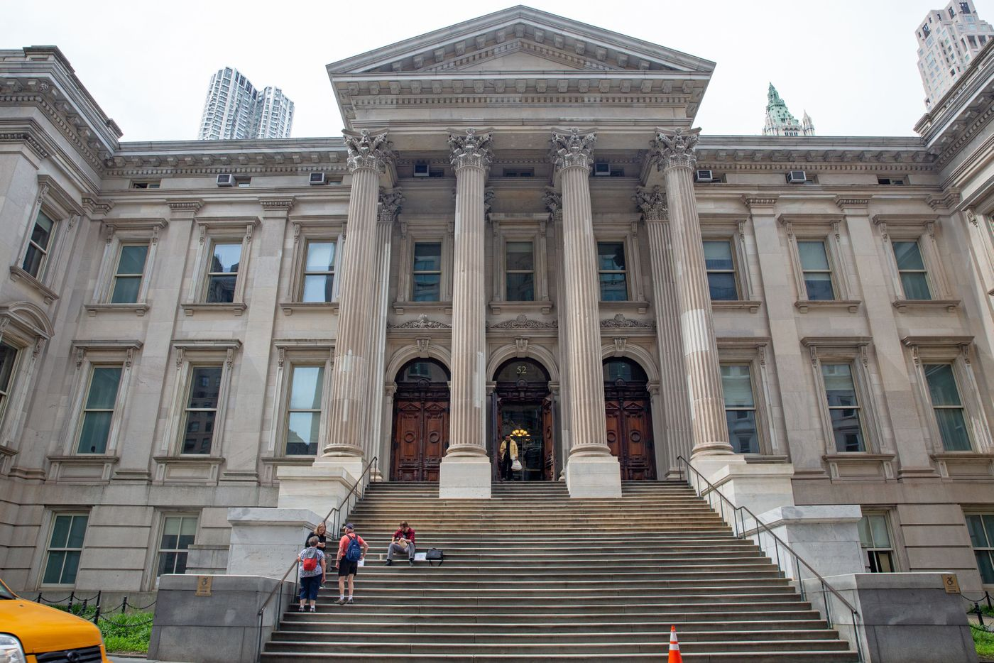 The Department of Education headquarters in the old Tweed Courthouse building on Chambers Street in lower Manhattan, June 7, 2019.