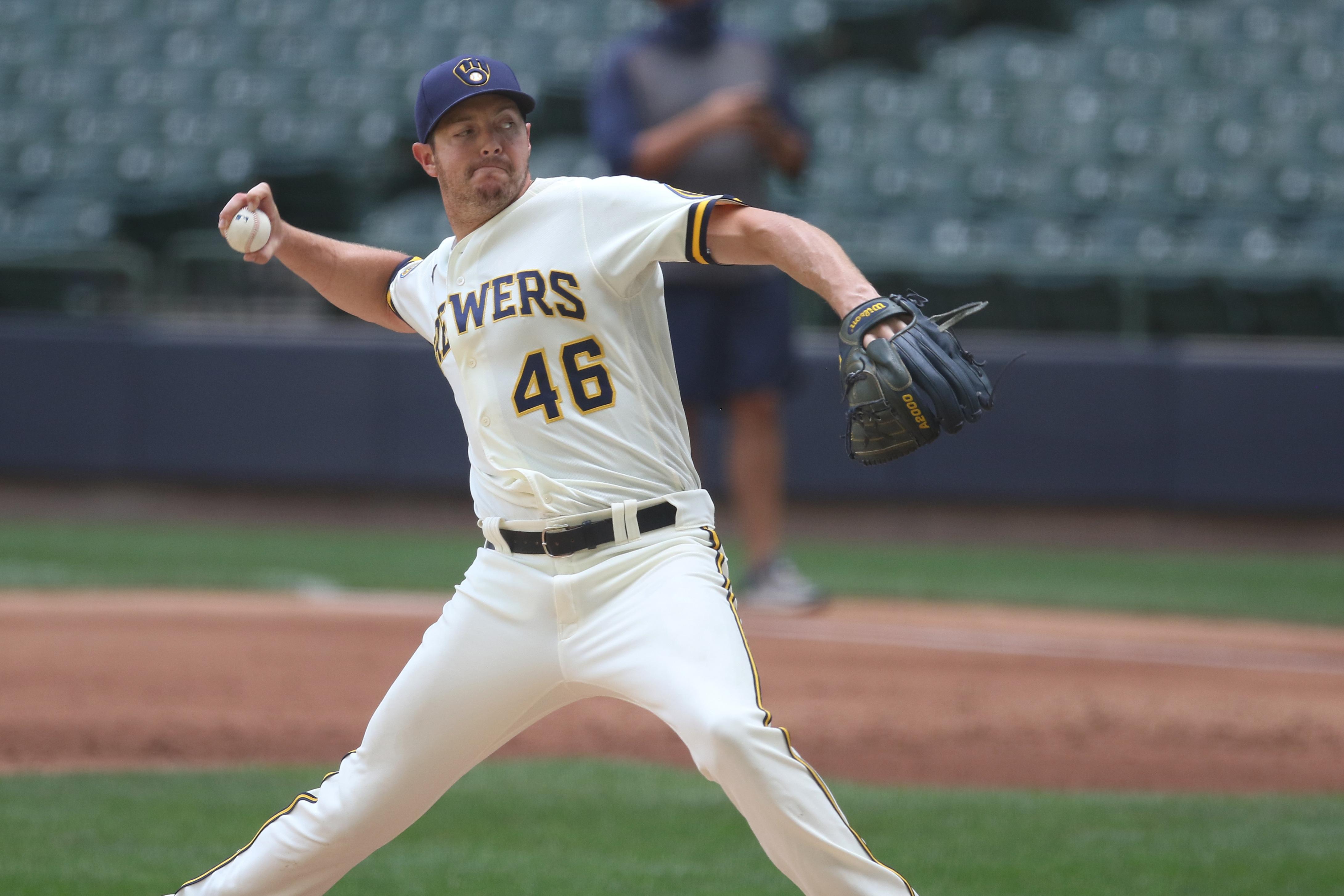 MLB: JUL 10 Brewers Summer Camp