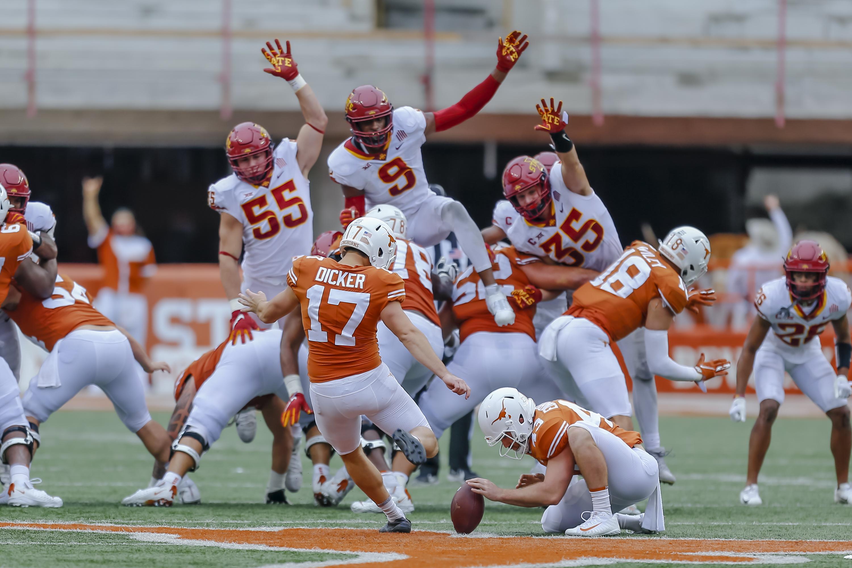 COLLEGE FOOTBALL: NOV 27 Iowa State at Texas