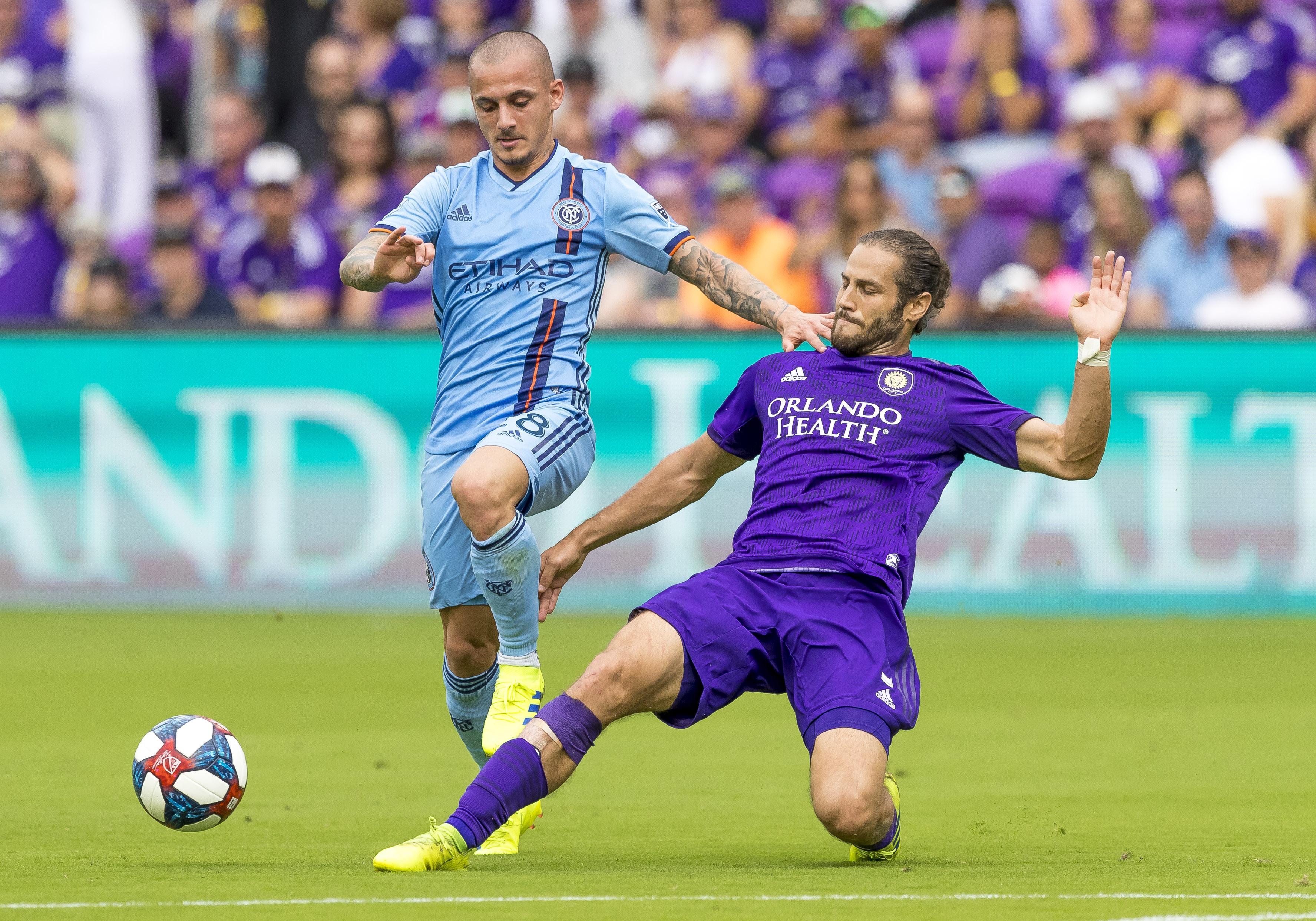 SOCCER: MAR 02 MLS - New York City FC at Orlando City SC