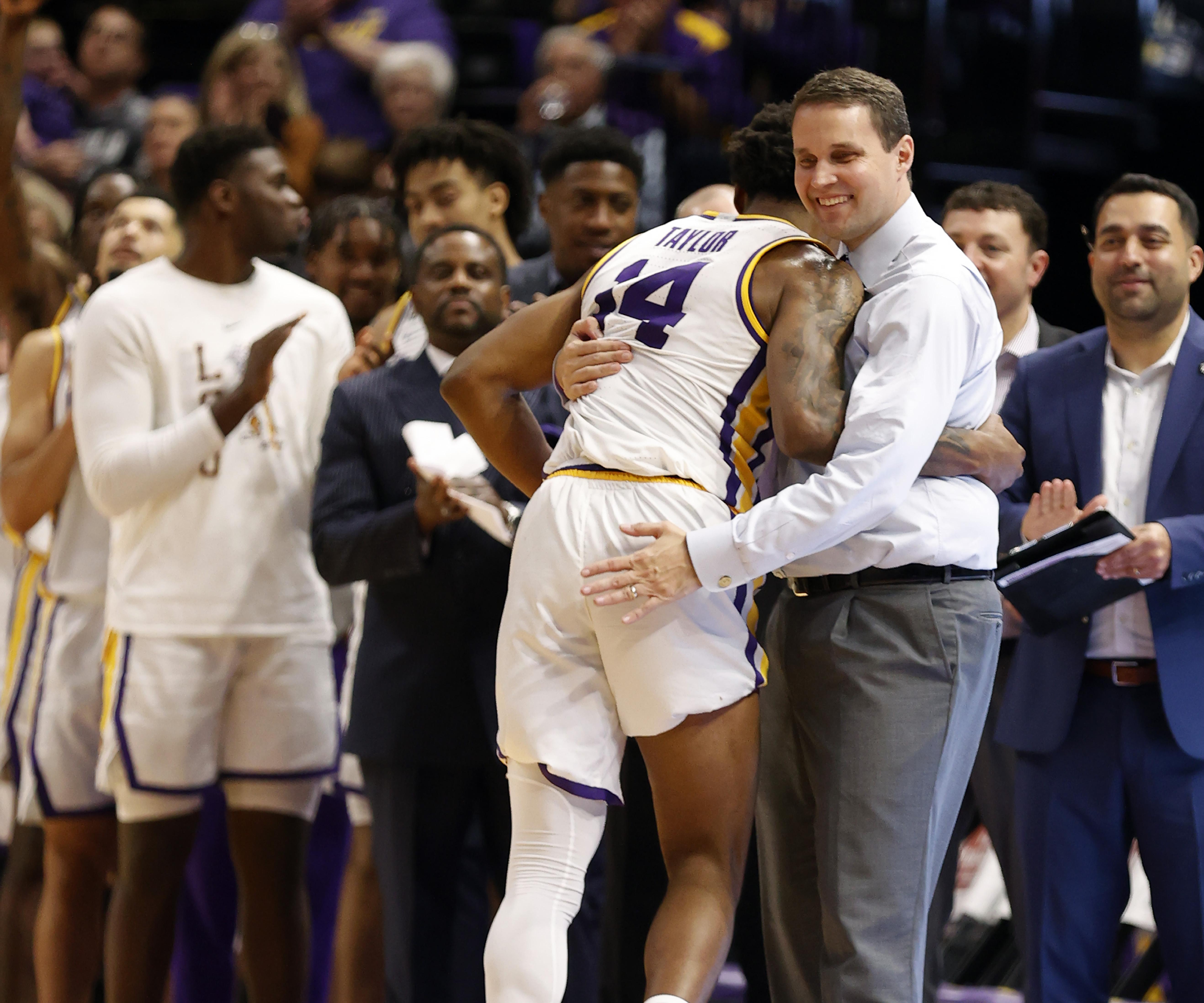 NCAA Basketball: Georgia at Louisiana State