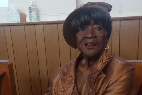 84-year-old Dorothy Widman died in May in her apartment in the Bronx River Houses.