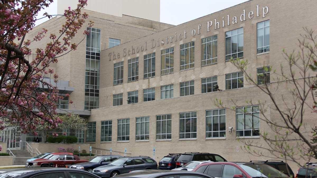 Exterior of The School District of Philadelphia building.