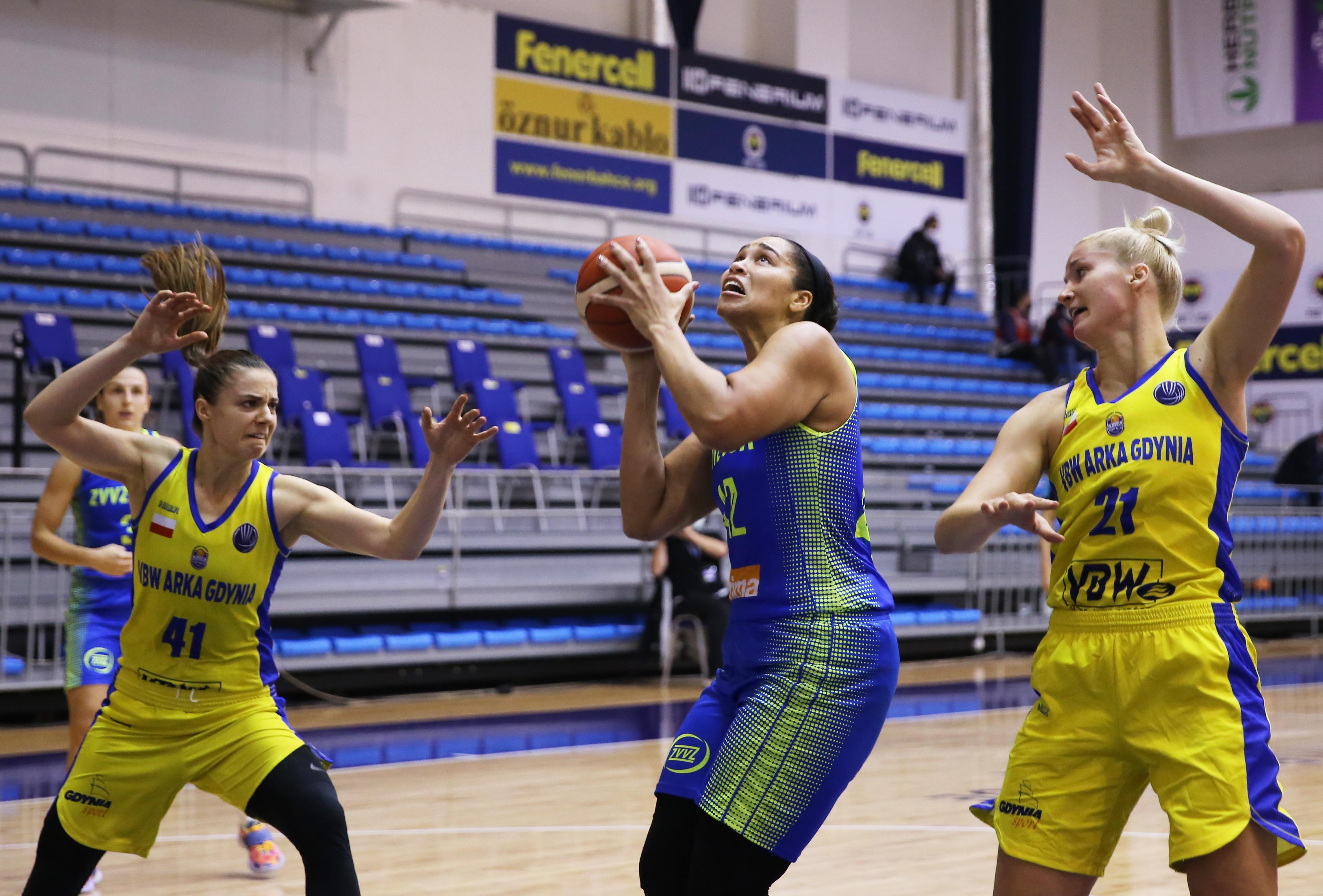 Arka Gdynia v USK Prag - FIBA Women Eurobasket