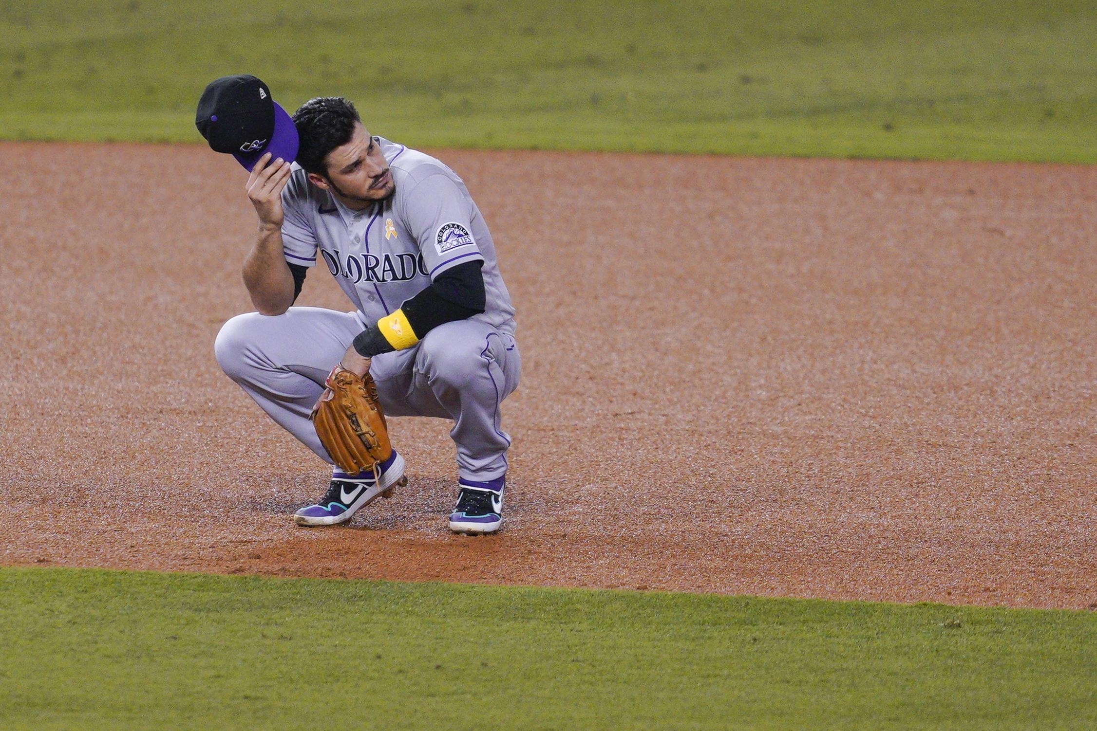 MLB: SEP 05 Rockies at Dodgers