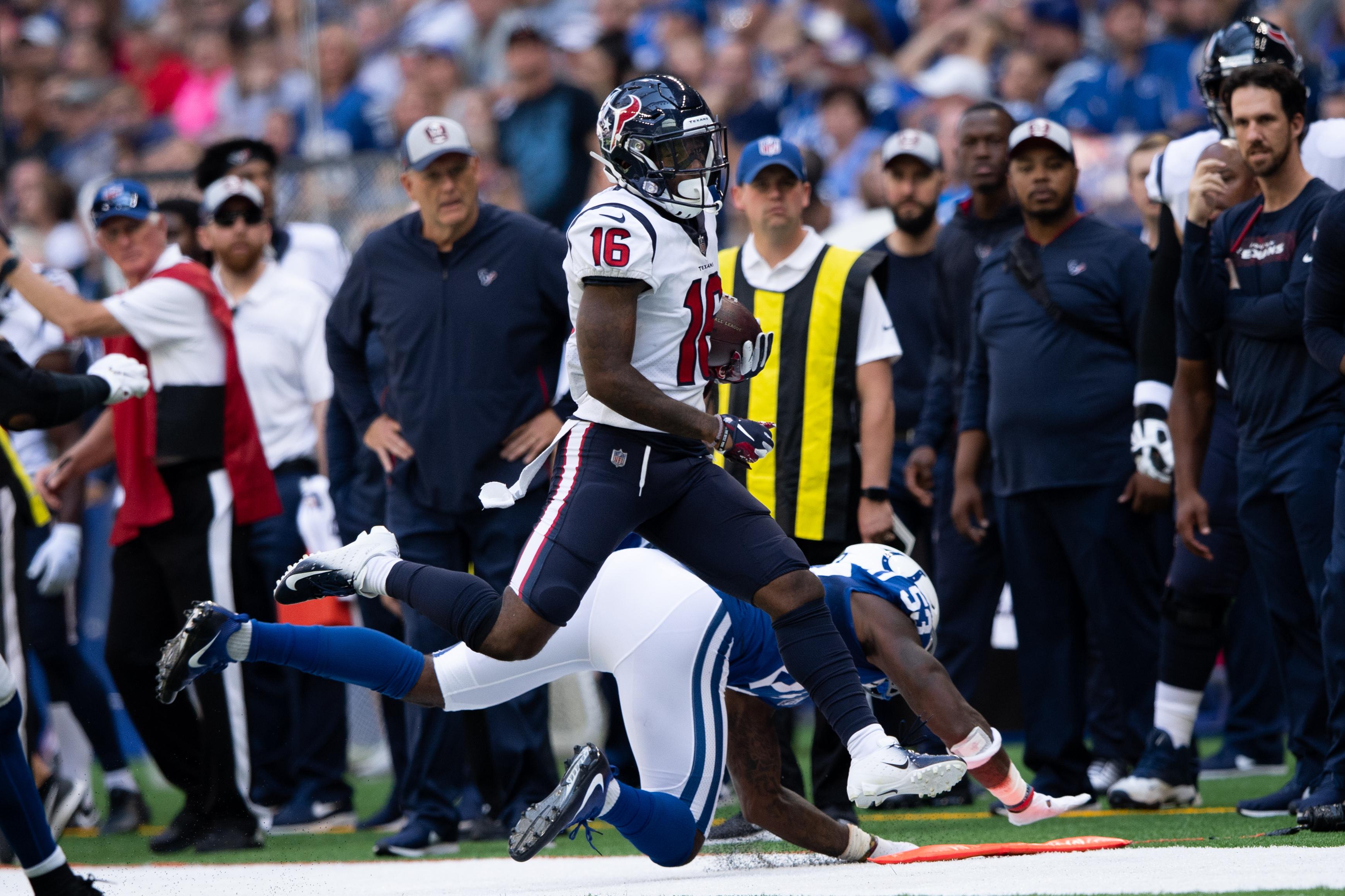 NFL: SEP 30 Texans at Colts