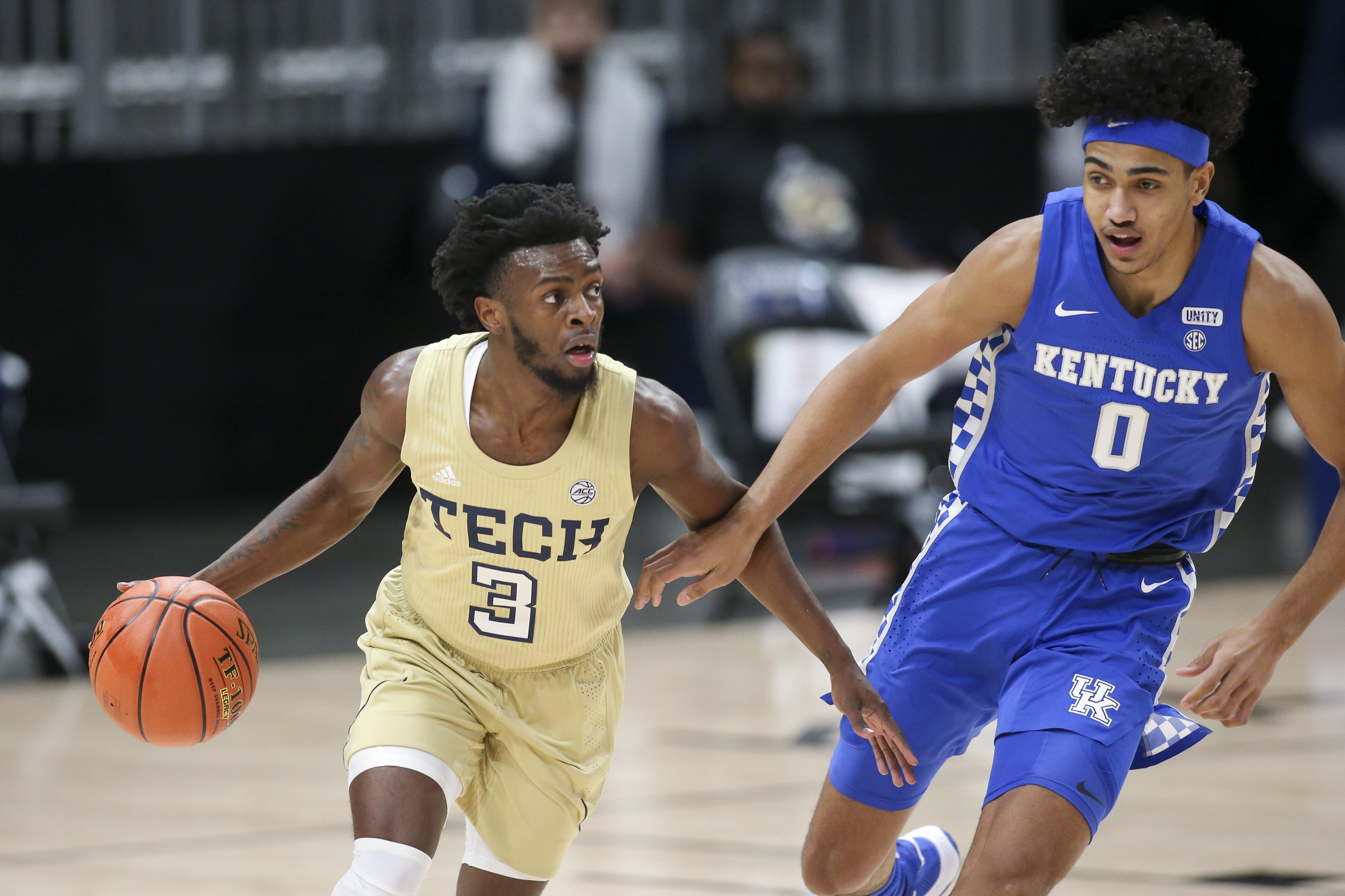 NCAA Basketball: Kentucky at Georgia Tech