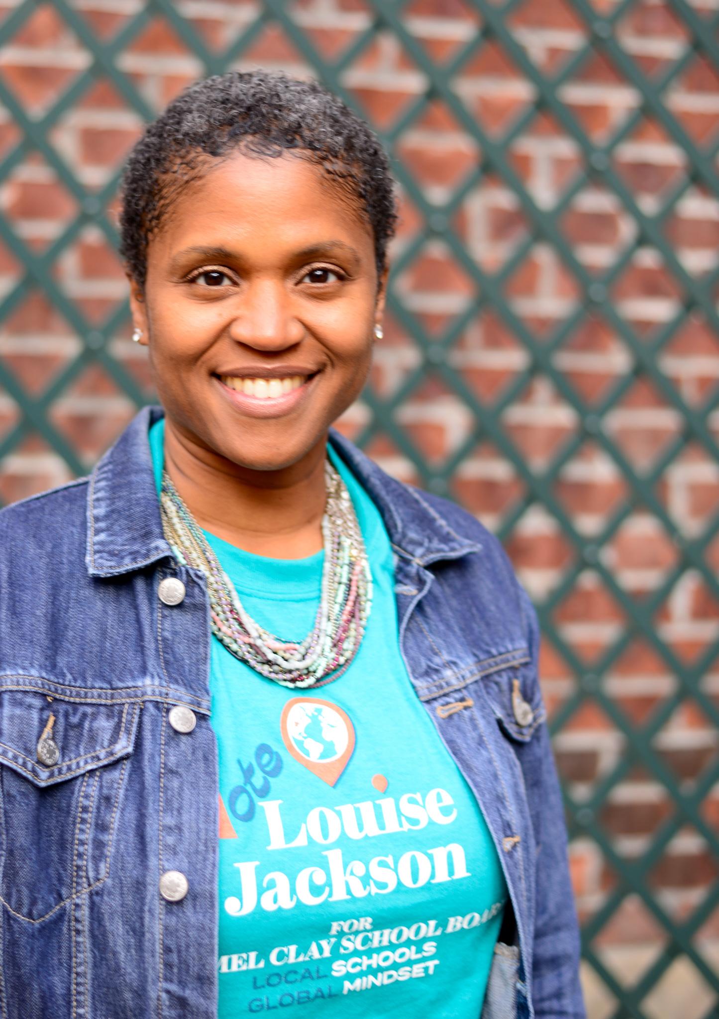 Headshot of Louise Jackson