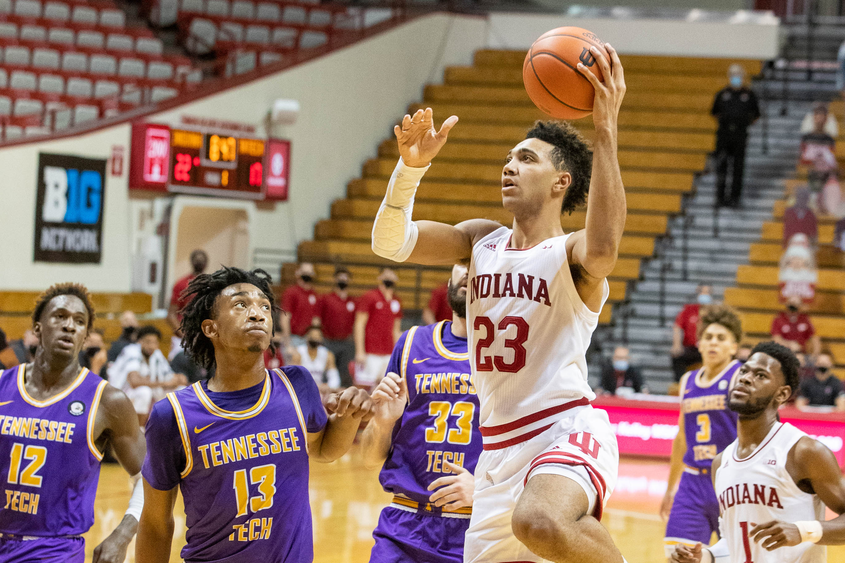 NCAA Basketball: Tennessee Tech at Indiana