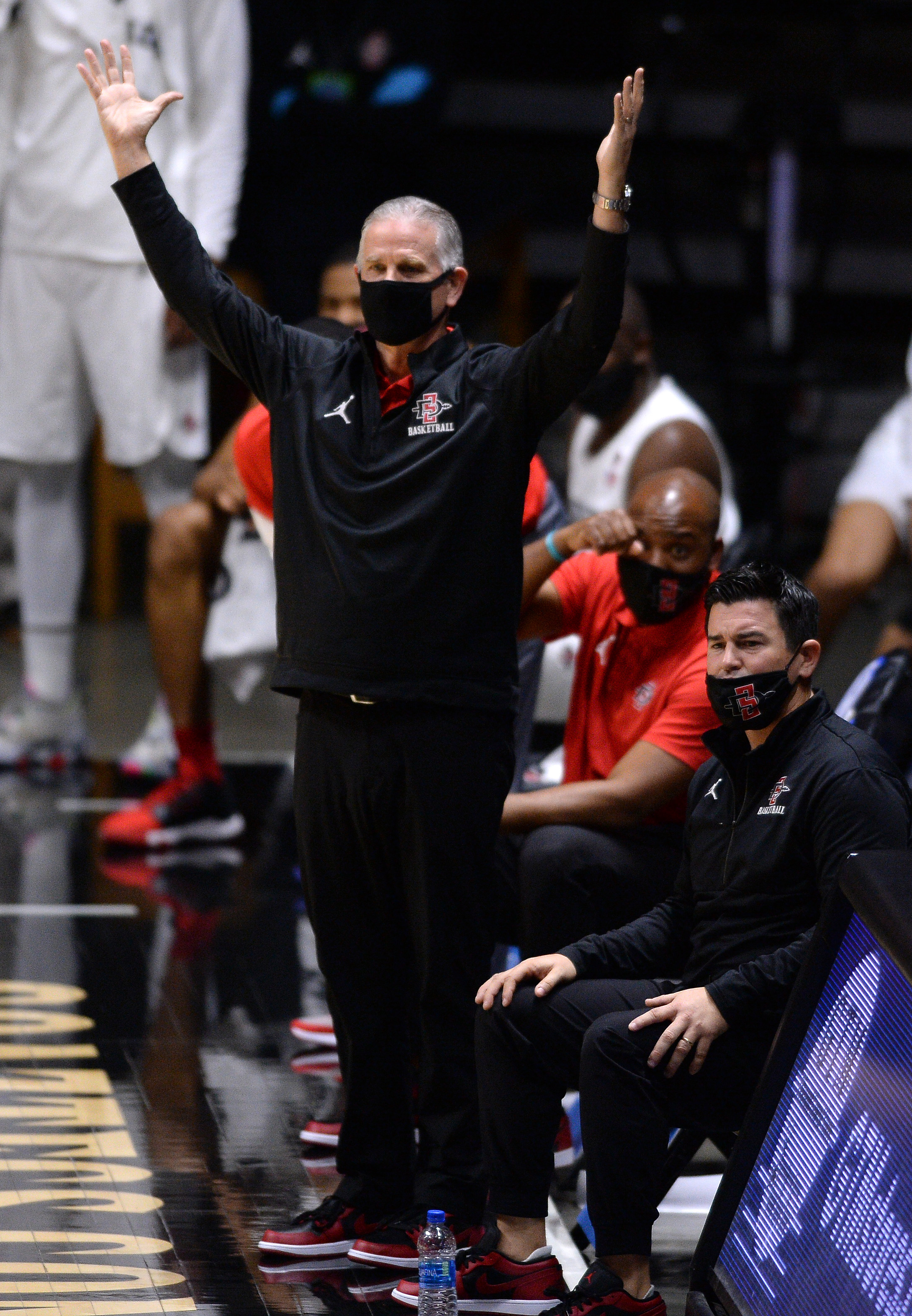 NCAA Basketball: Saint Katherine at San Diego State