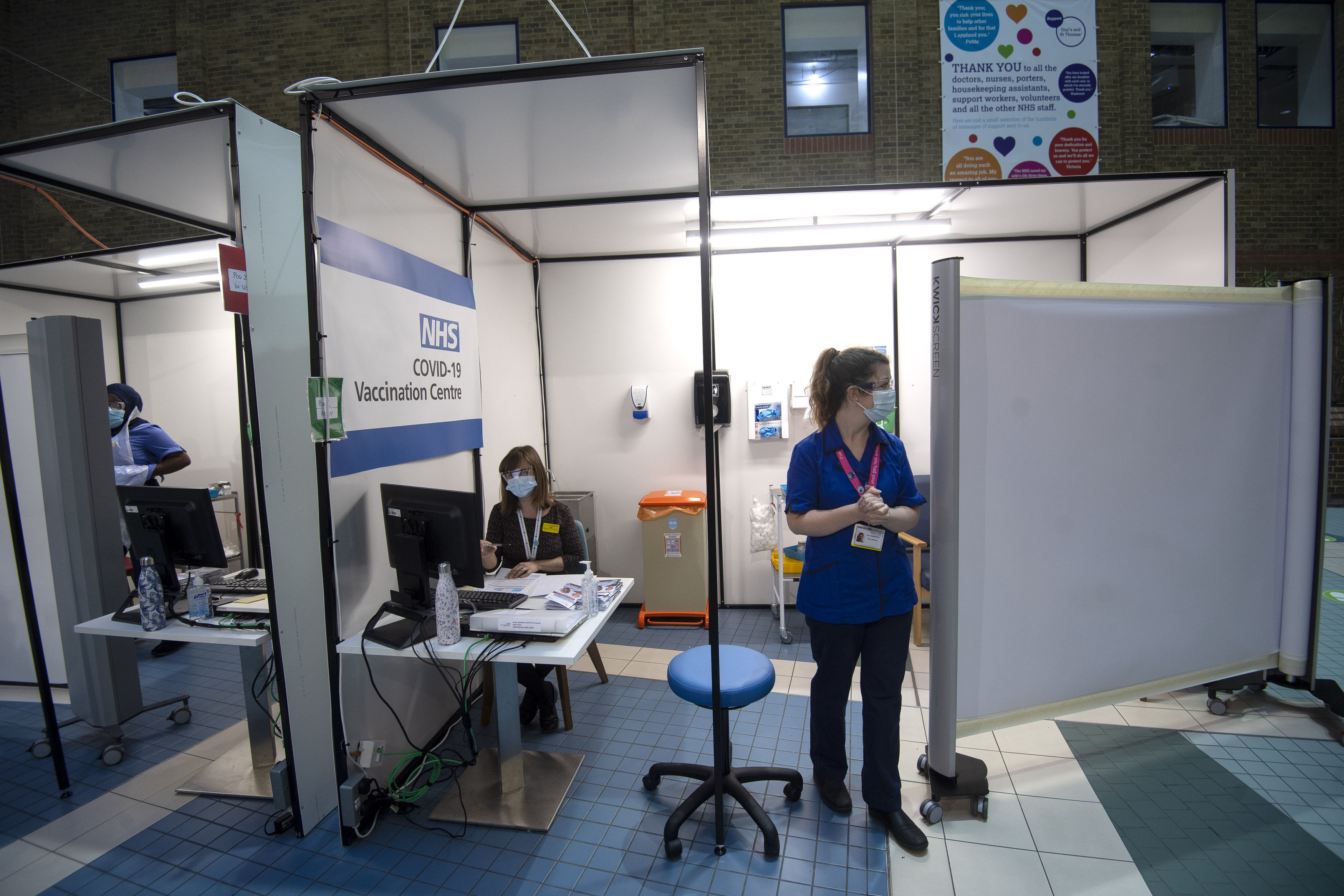 NHS England Starts Covid-19 Vaccination Campaign