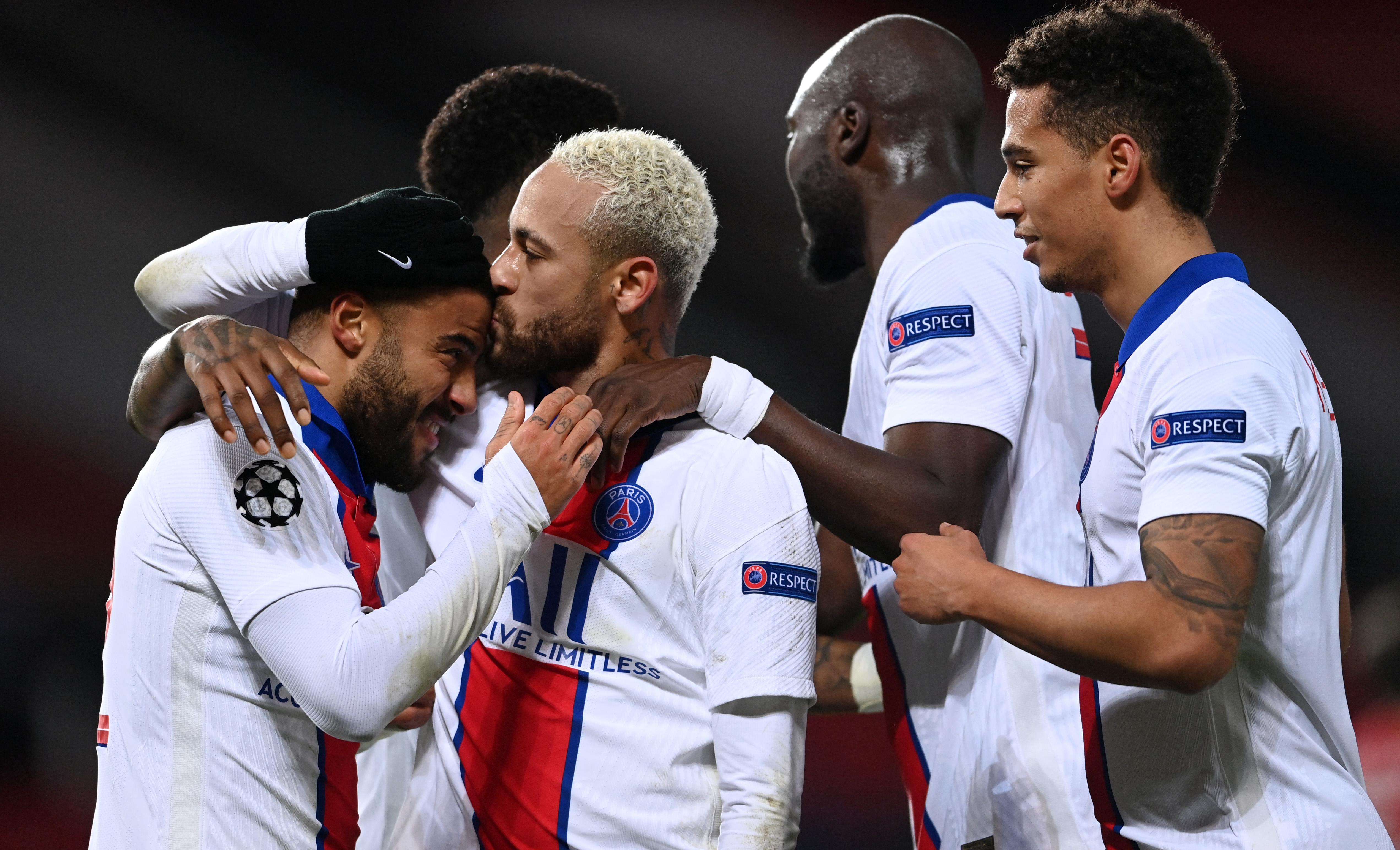 Paris Saint-Germain celebrates - UEFA Champions League