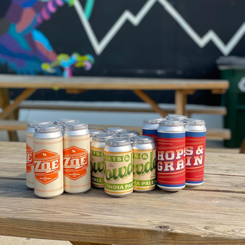 Beers from Hops & Grain