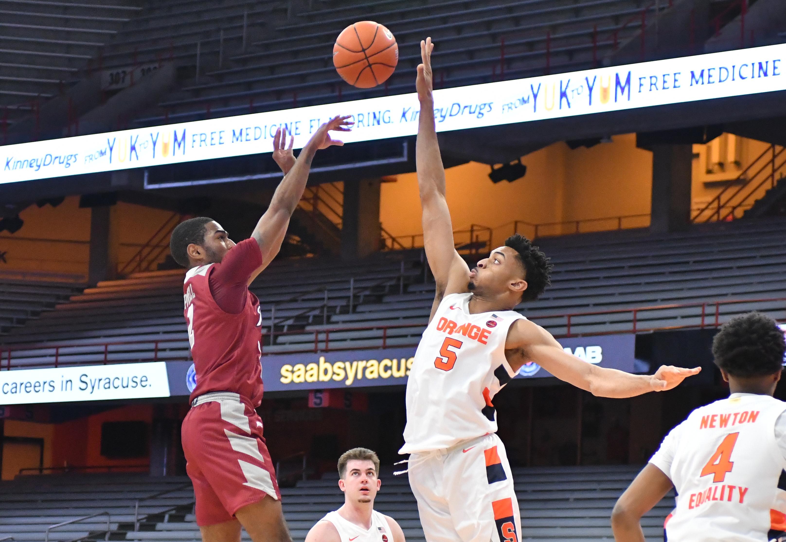 NCAA Basketball: Rider at Syracuse