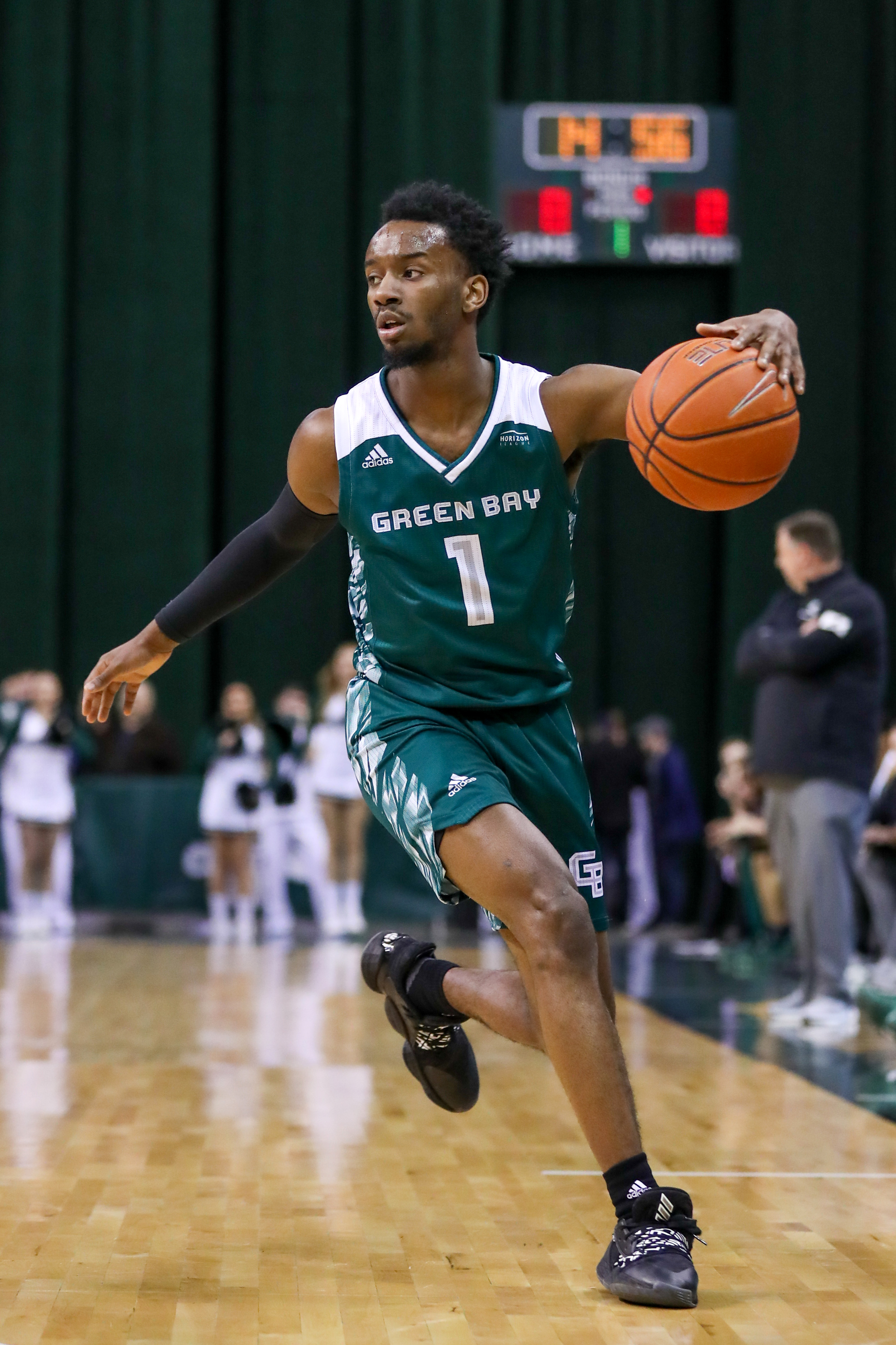 COLLEGE BASKETBALL: JAN 23 Green Bay at Cleveland State
