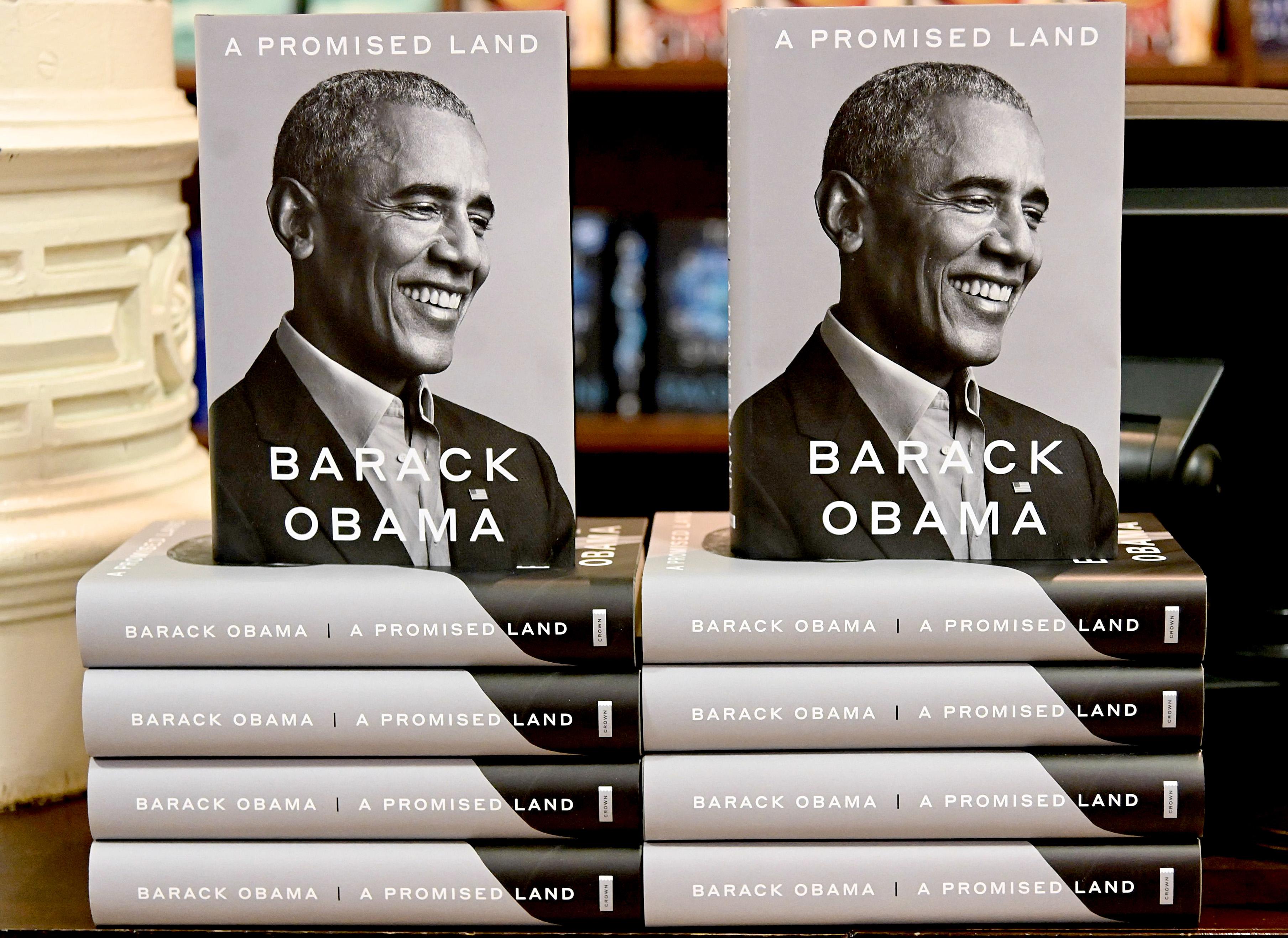 美国总统奥巴马的回忆录《应许之地》将在假期前上市