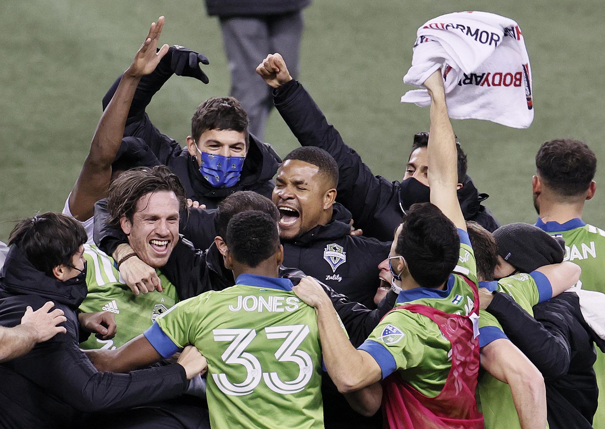 明尼苏达州联合FC V Seattle Loaders:Western会议决赛 -  MLS杯季后赛