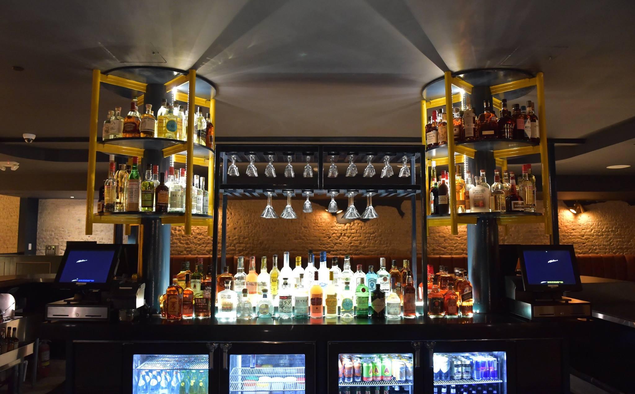 The bar at Sellers