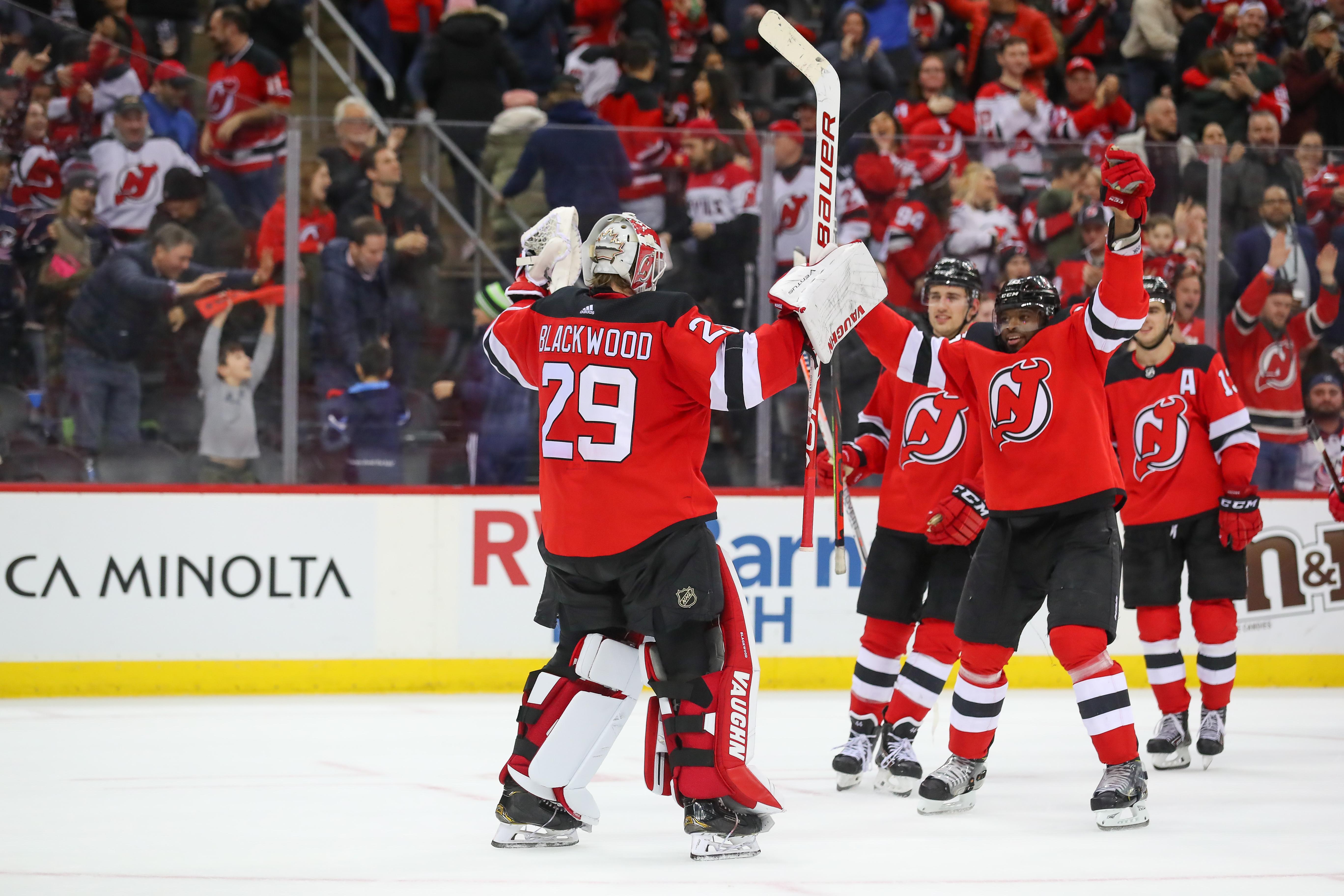 NHL: FEB 16 Blue Jackets at Devils