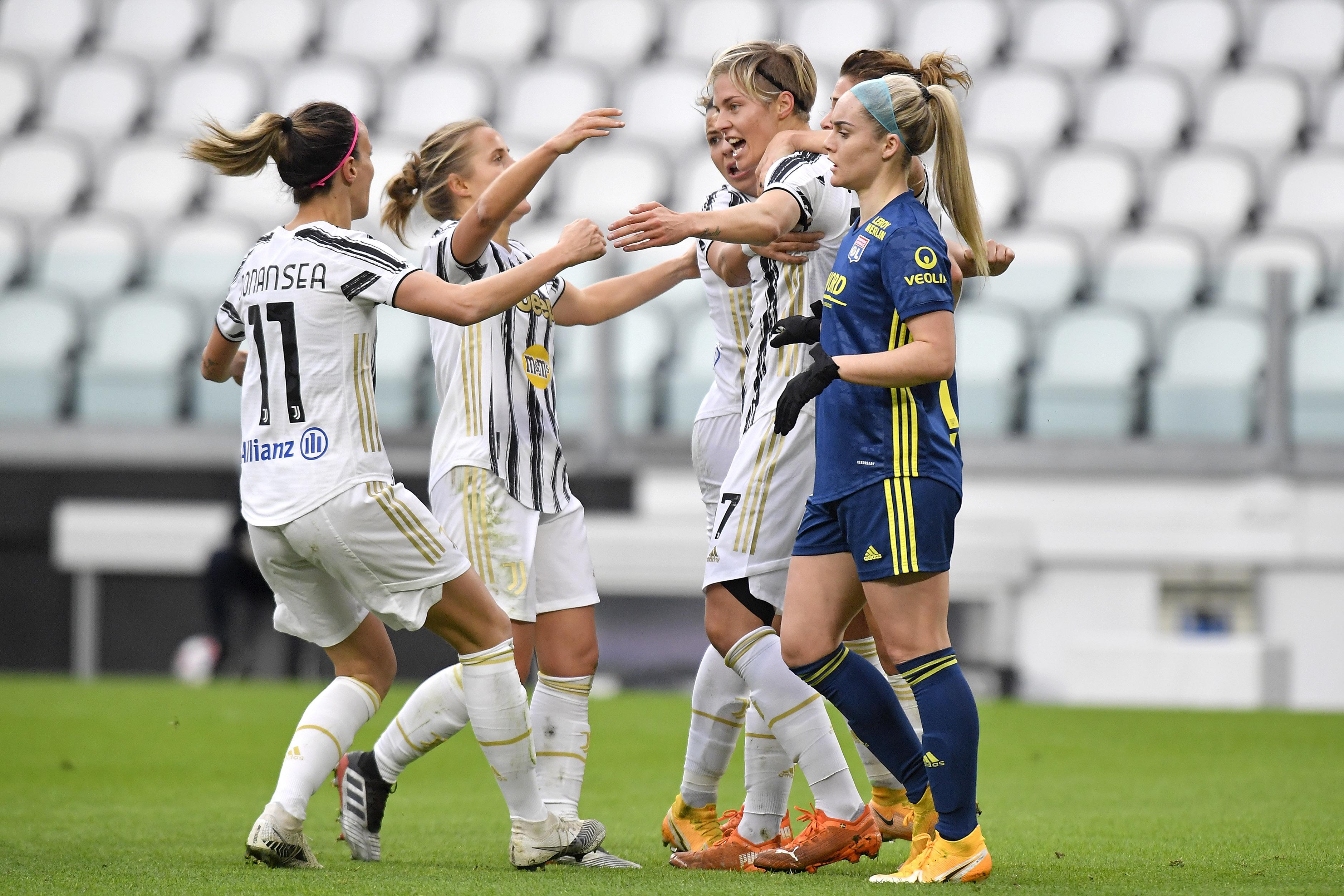 Juventus Women v Olympique Lyonnais Women - UEFA Women's Champions League Round of 32: First Leg